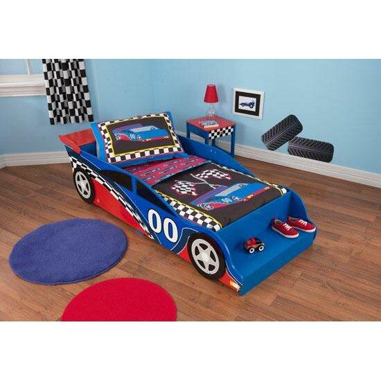 KidKraft Racecar Toddler Car Bed & Reviews   Wayfair