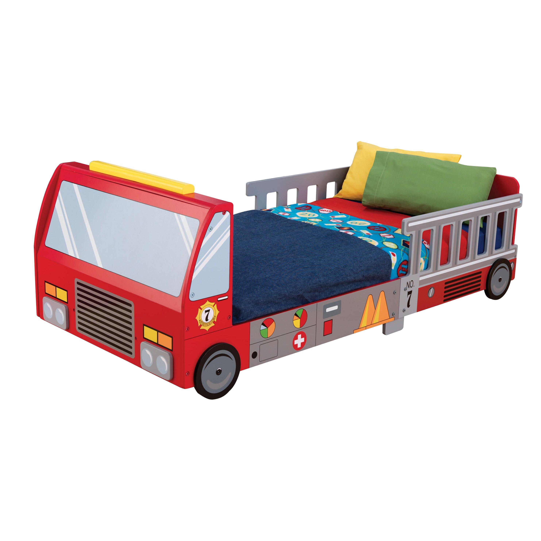 KidKraft Firefighter Toddler Car Bed Amp Reviews