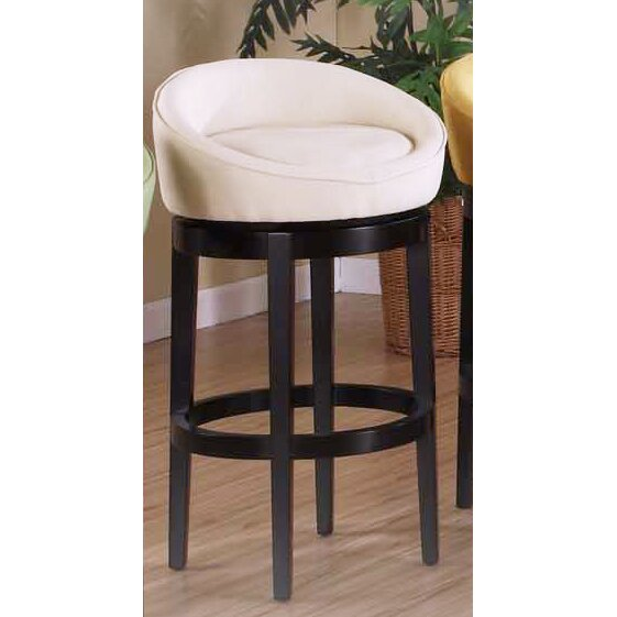 Armen Living Igloo 26 Quot Swivel Bar Stool With Cushion
