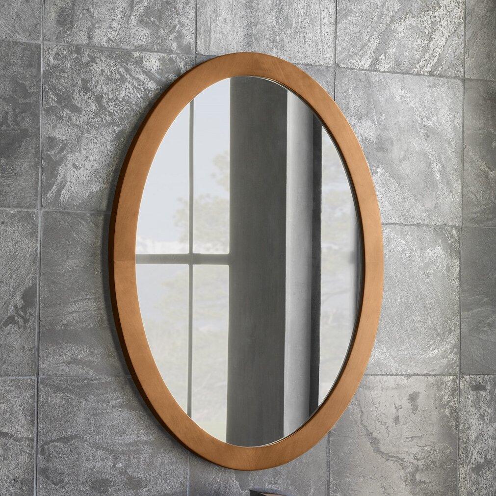 Oval Wall Mirror | Wayfair