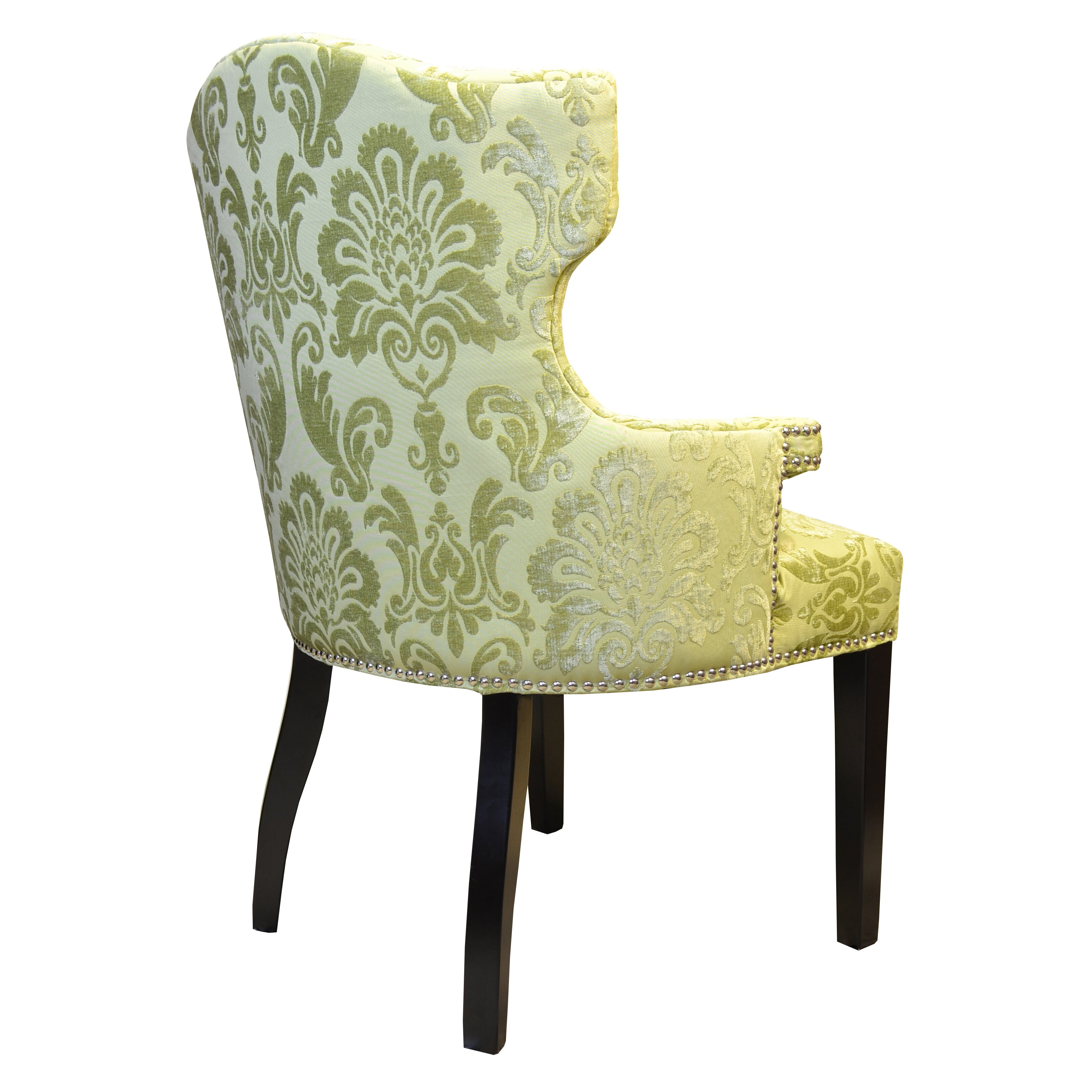 Hd Couture Brittania Fan Damask Wingback Chair Amp Reviews
