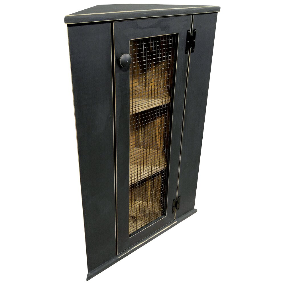 SawdustCity Corner Cabinet Top Hutch & Reviews