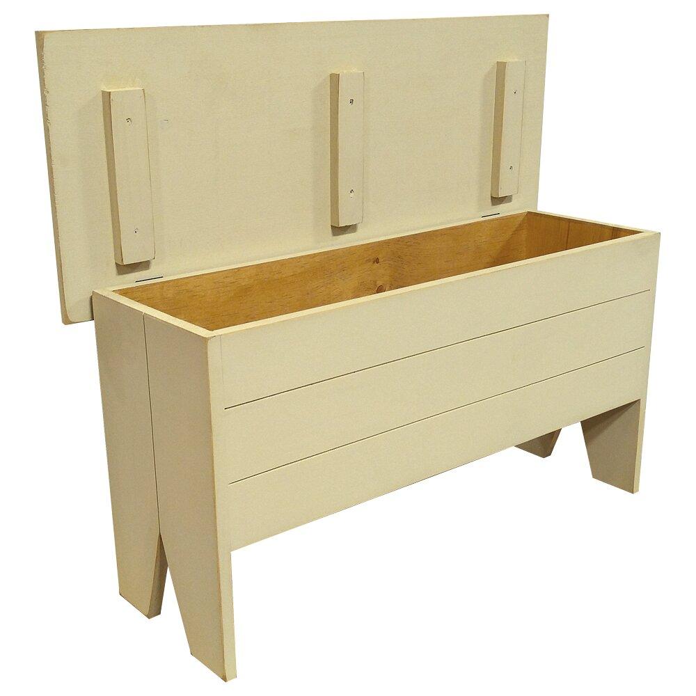wooden storage entryway bench wayfair. Black Bedroom Furniture Sets. Home Design Ideas