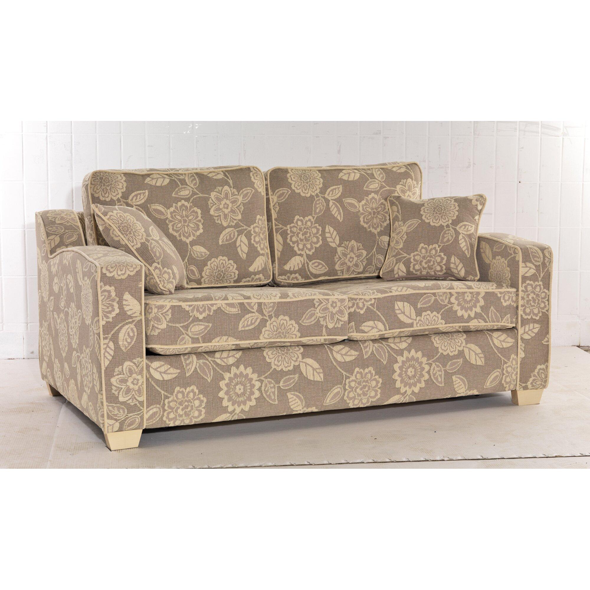 berlin 3 seater fold out sofa wayfair uk. Black Bedroom Furniture Sets. Home Design Ideas