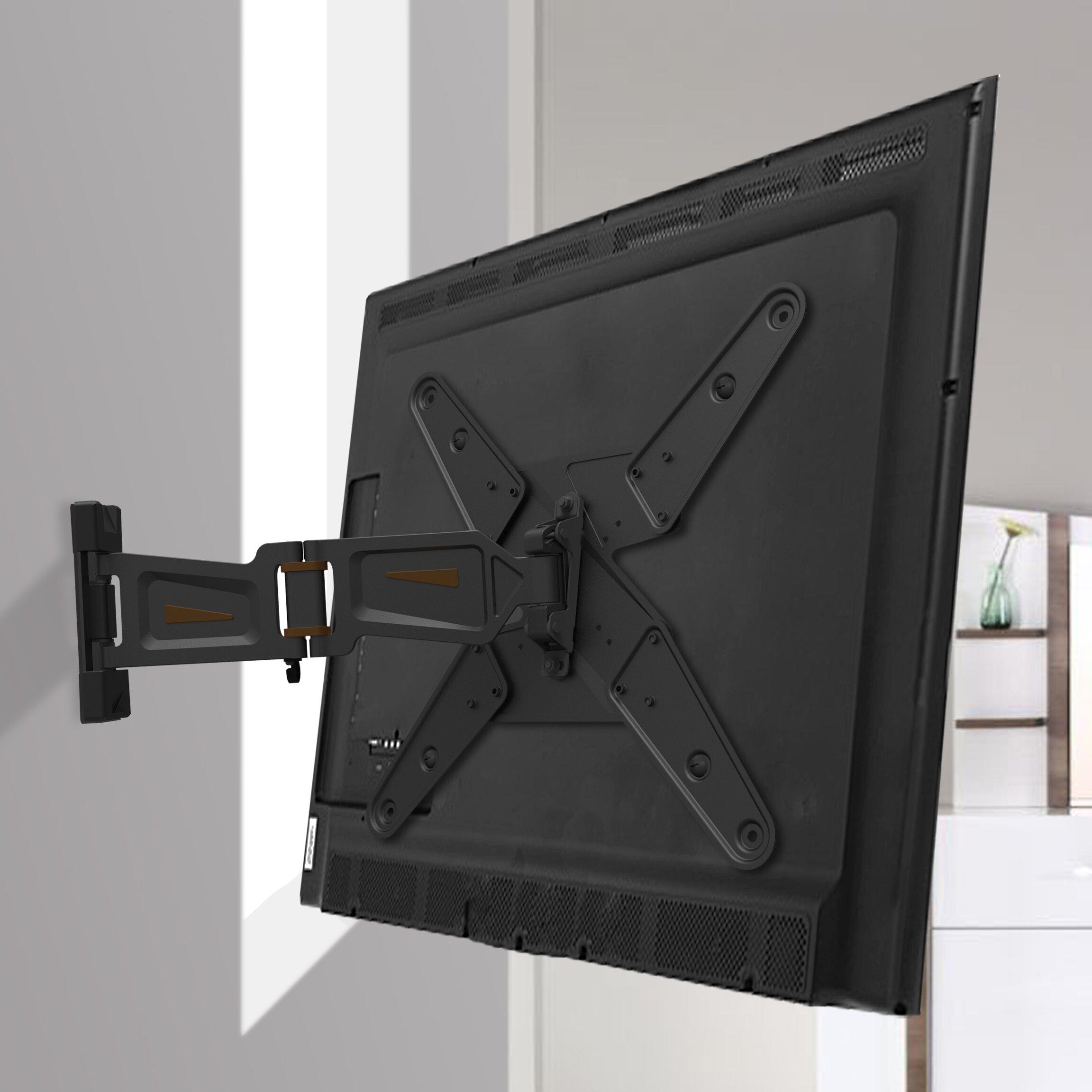 gforce full motion tv wall mount for 23 55 flat panel screens reviews wayfair. Black Bedroom Furniture Sets. Home Design Ideas