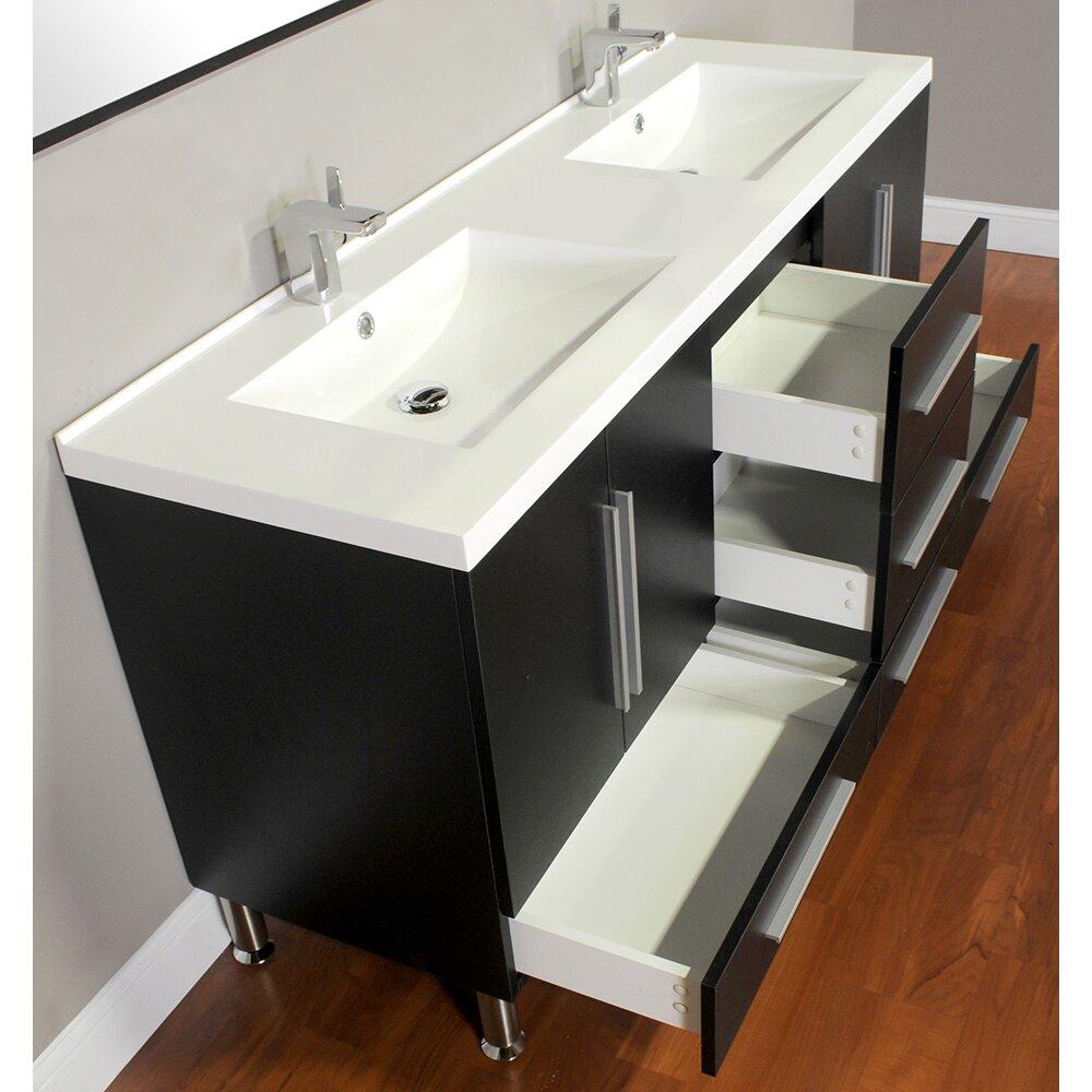 Ripley 67 Double Modern Bathroom Vanity Set Wayfair