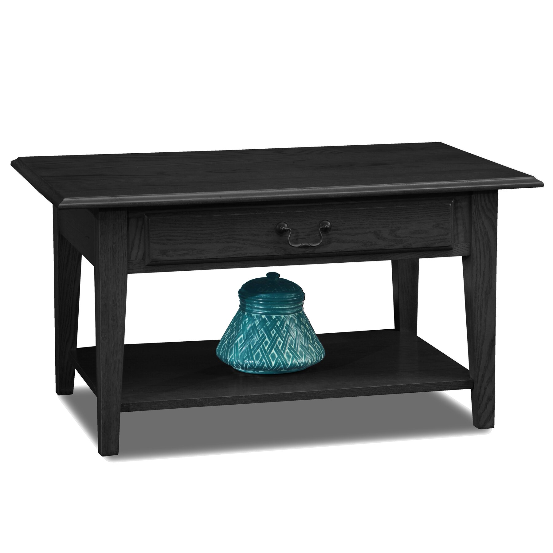 leick shaker coffee table reviews wayfair. Black Bedroom Furniture Sets. Home Design Ideas