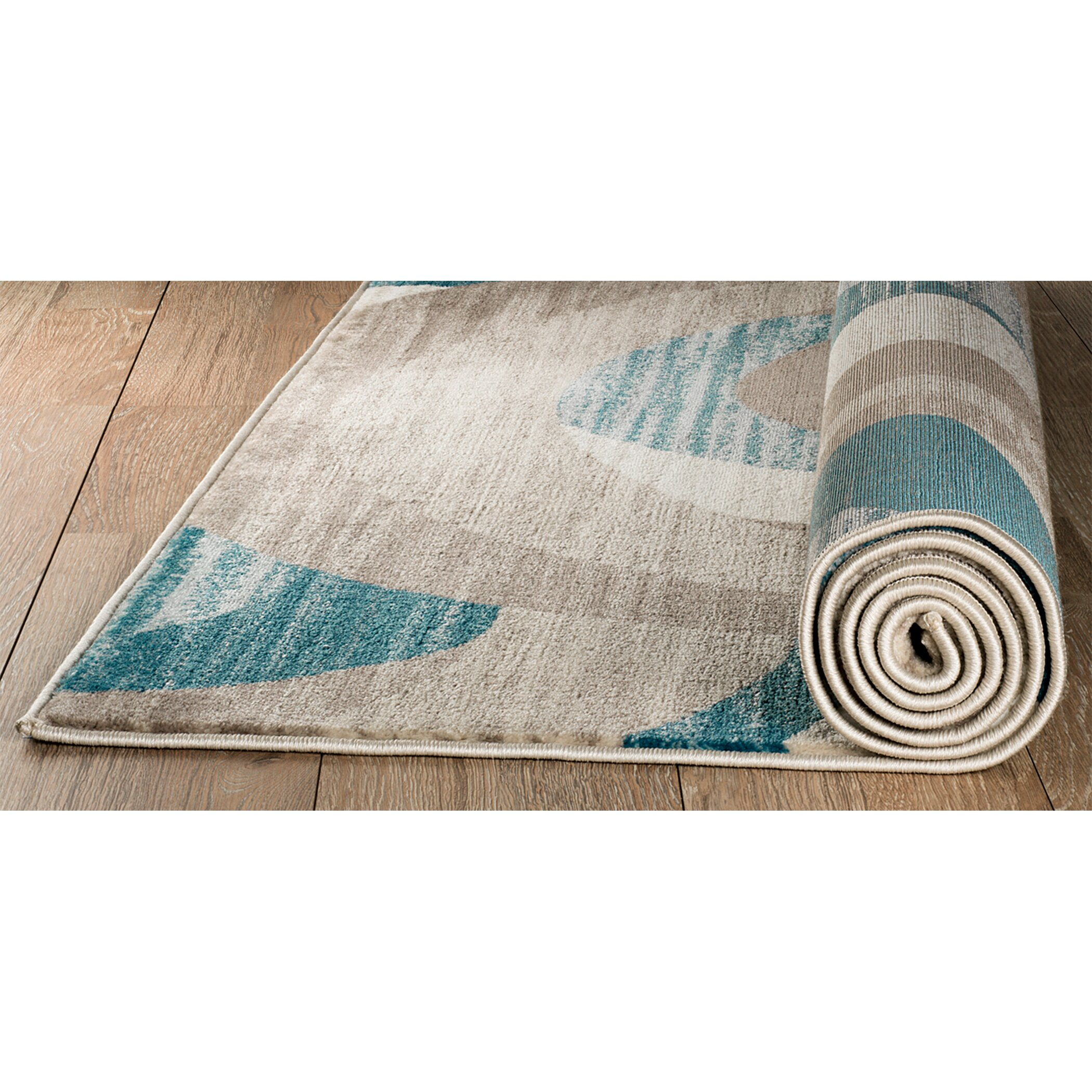 Turquoise Runner Rug: Rug And Decor Inc. Summit Turquoise Area Rug & Reviews