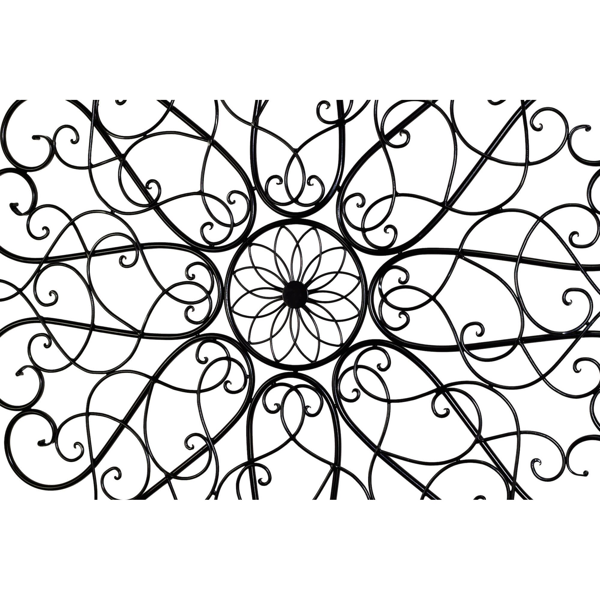 Round Iron Scroll Wall Decor 13GM1345 7 pin wiring roslonek net,7 Pin Rv Plug Wiring Diagram