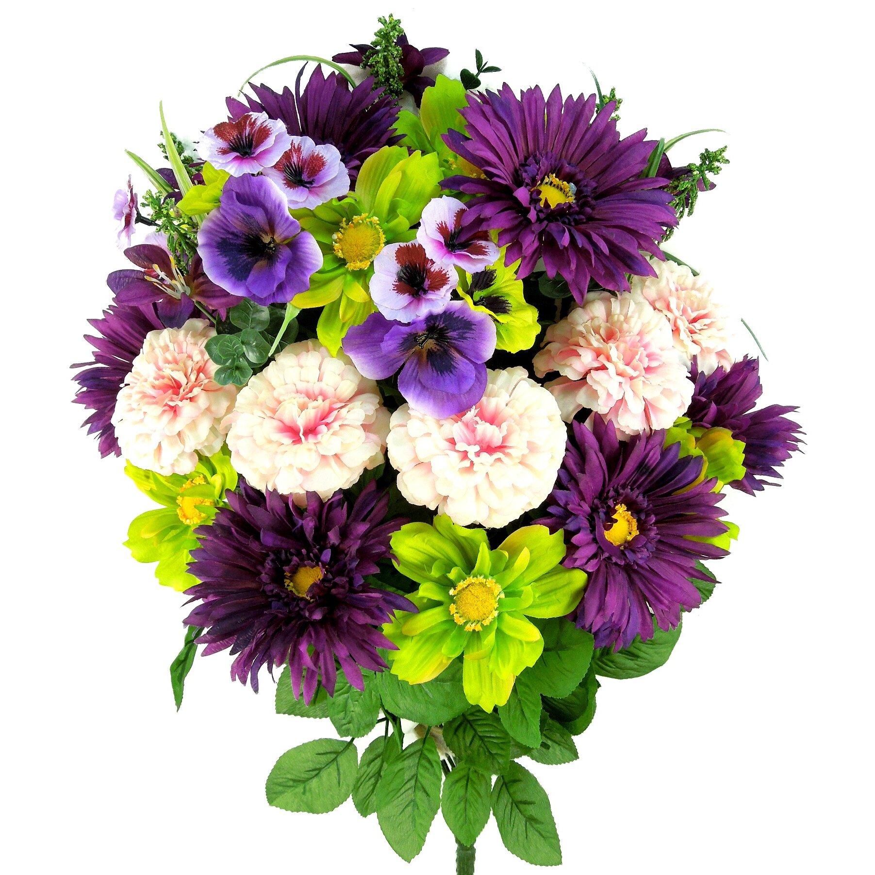 Admiredbynature Artificial Blooming Gerbera Daisy