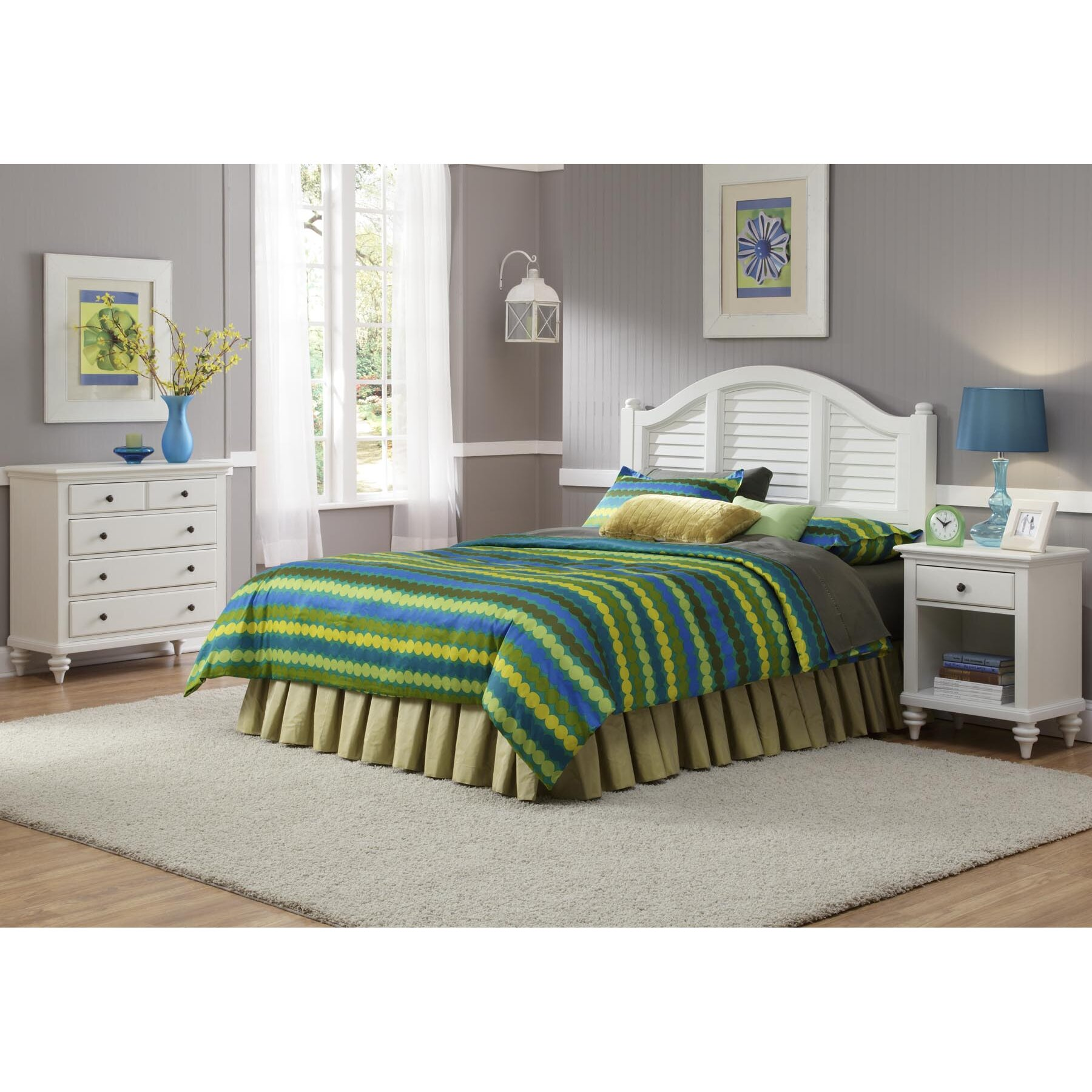 Kenduskeag platform 3 piece bedroom set wayfair for Bedroom 3 piece sets