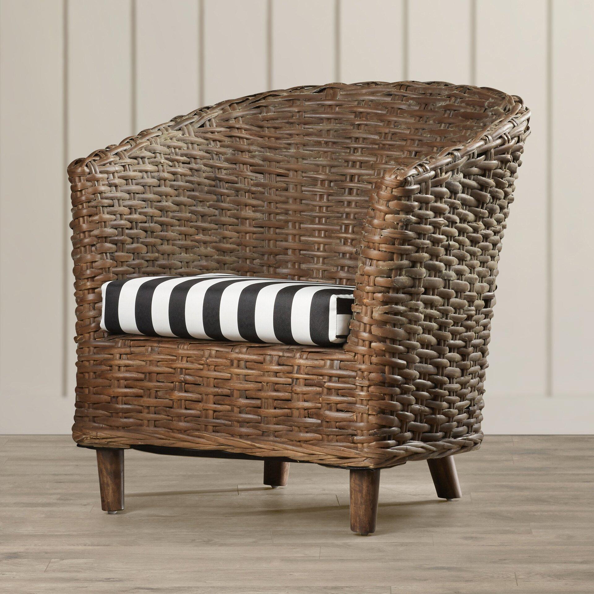 Perth Barrel Chair Wayfair