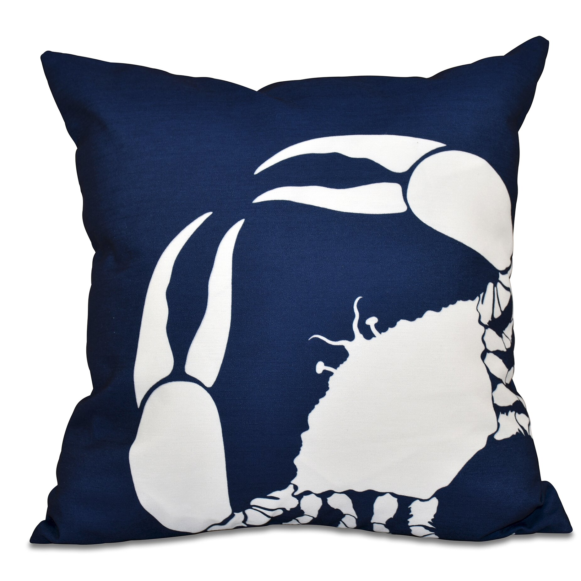 Decorative Pillows Marshalls : Marshallton Crab Outdoor Throw Pillow Wayfair