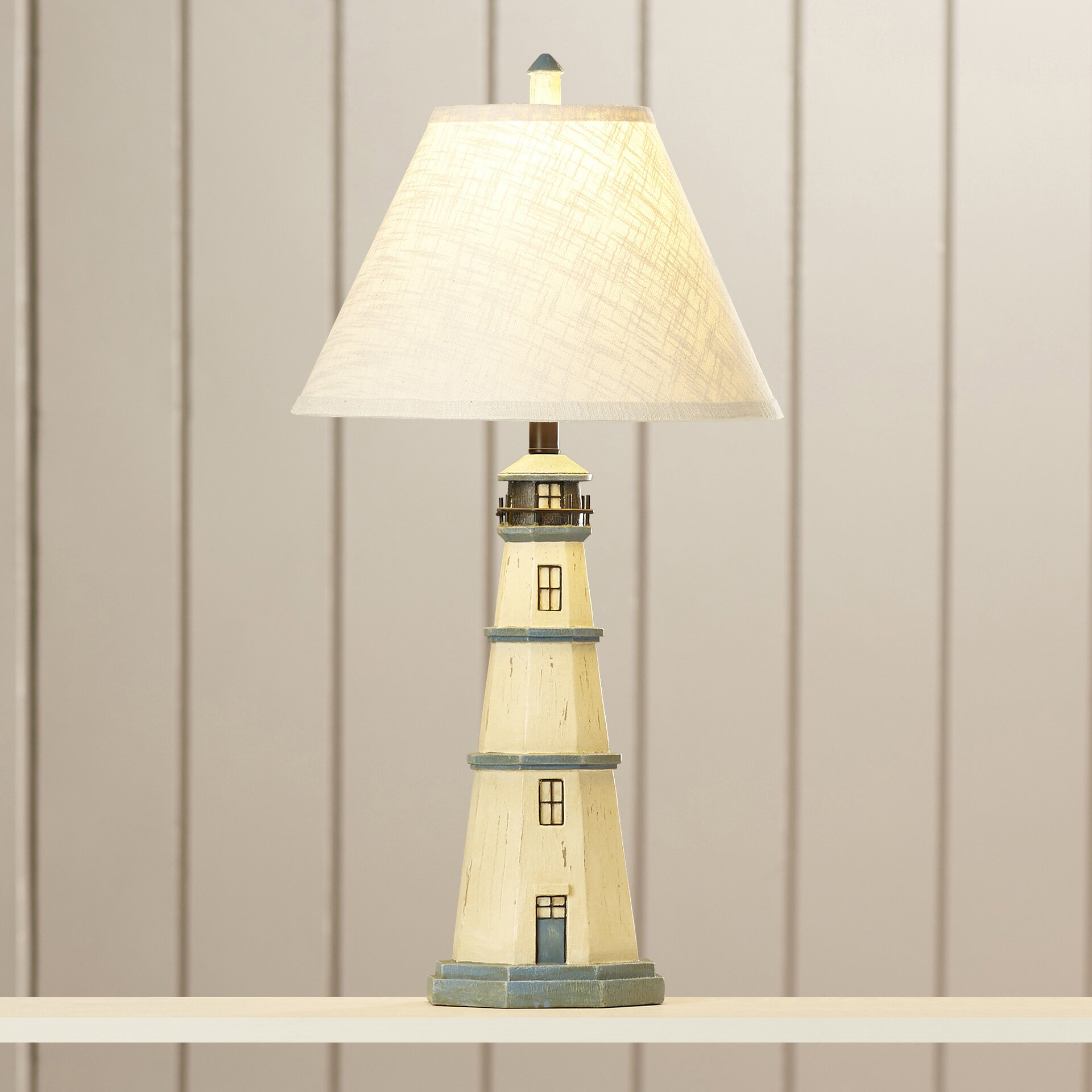 light house h table lamp with empire shade reviews wa. Black Bedroom Furniture Sets. Home Design Ideas