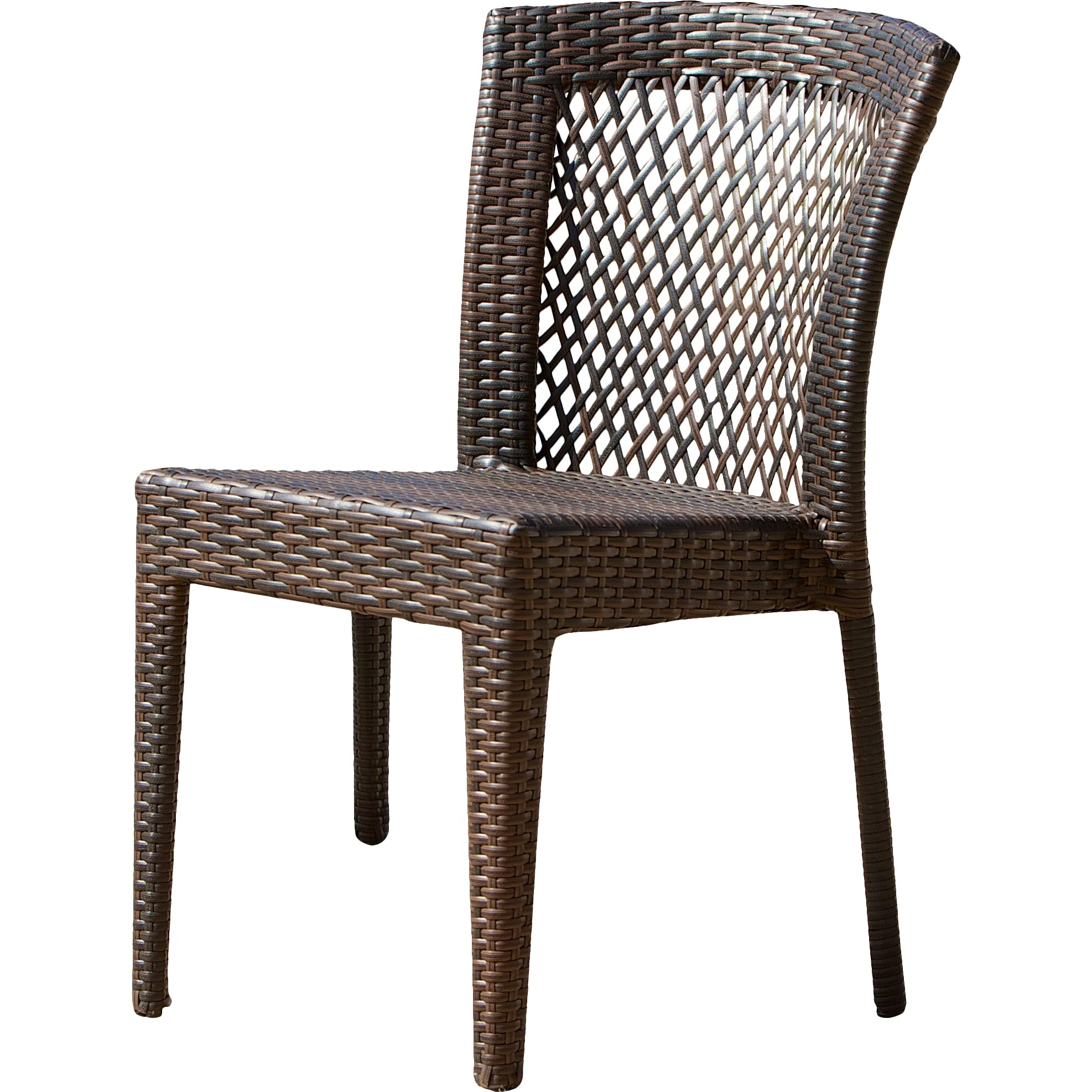 Dawson Outdoor Wicker Chair Wayfair