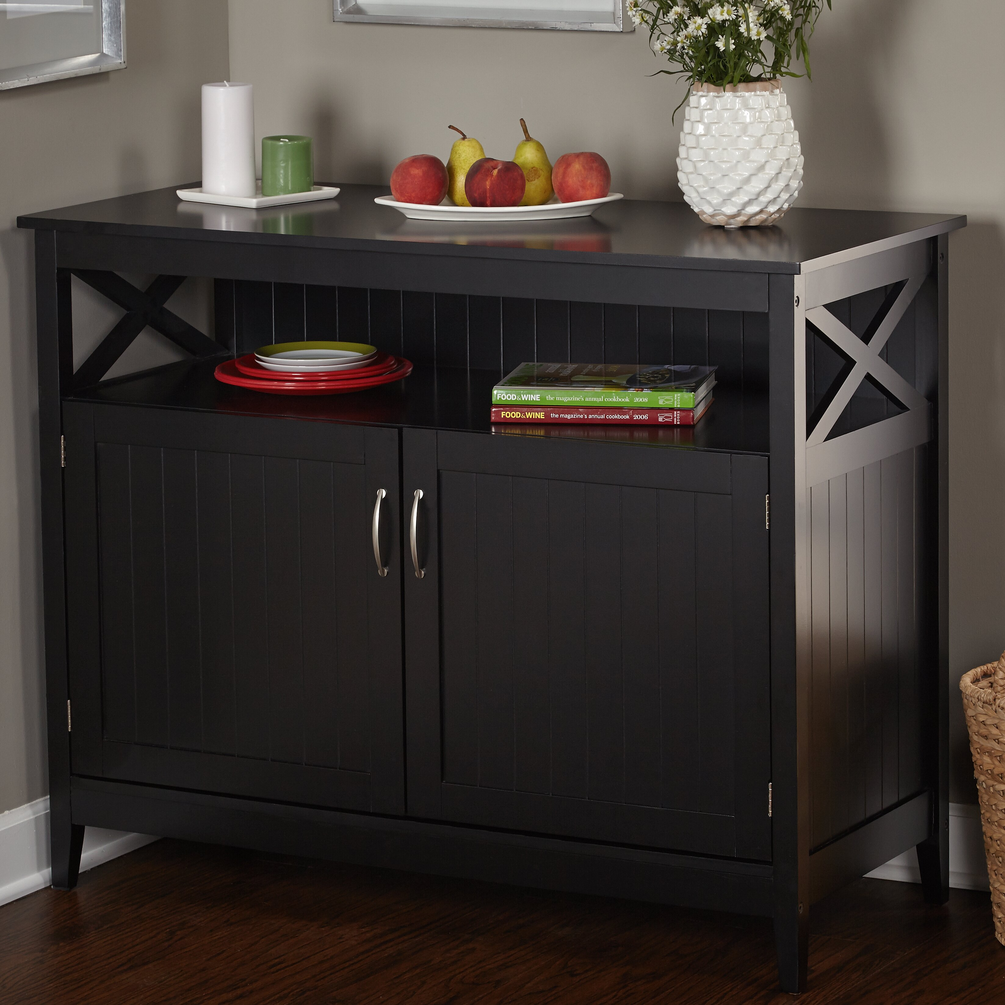 Breakwater Bay Caratunk Buffet With Wooden Top Amp Reviews