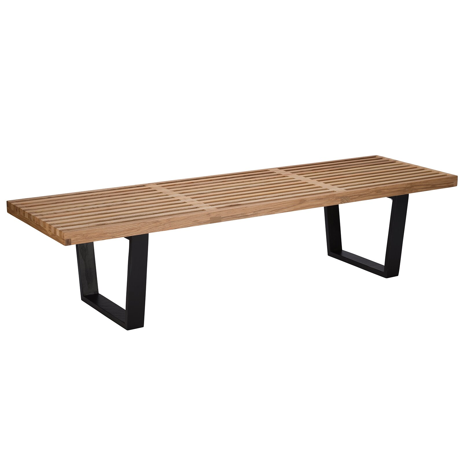 Slat Wood Entryway Bench Wayfair
