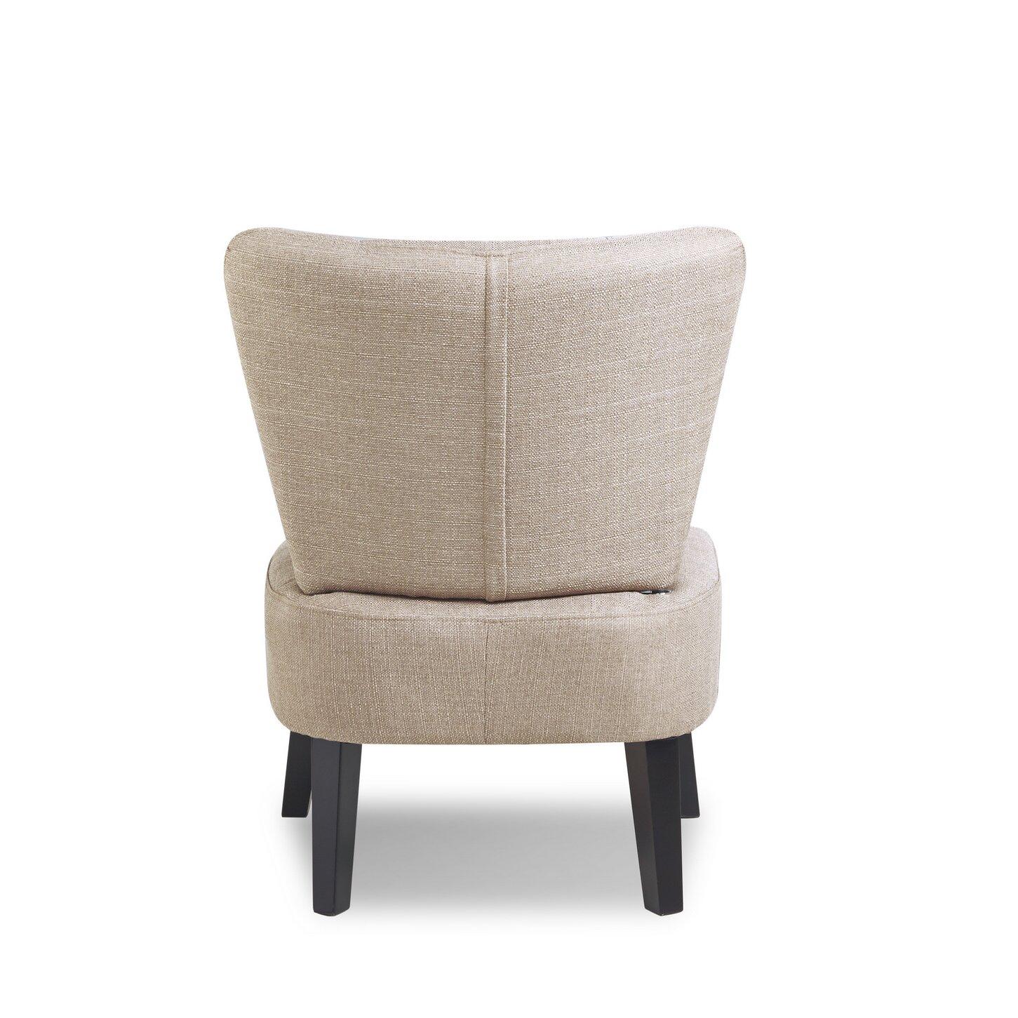 Malaga slipper chair wayfair - Furniture malaga ...