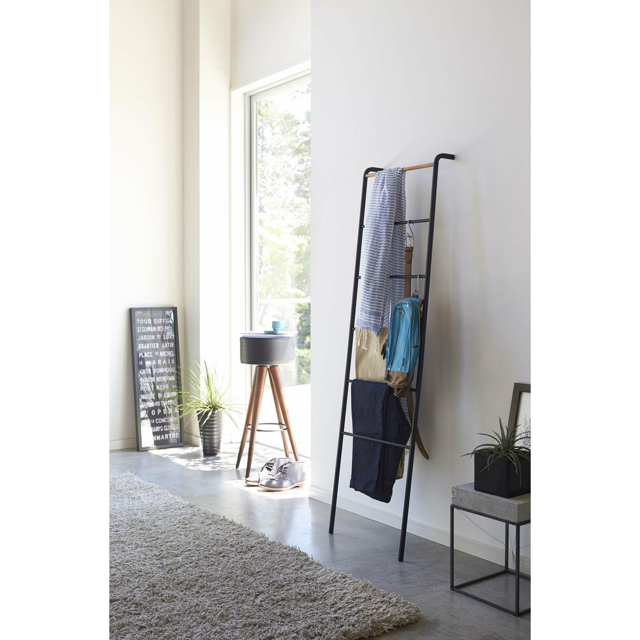 tower ladder hanging organizer. Black Bedroom Furniture Sets. Home Design Ideas