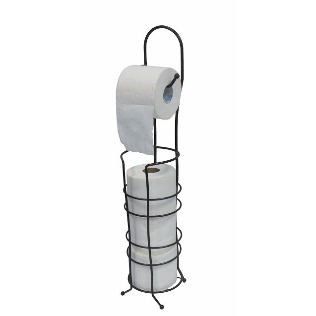 wee 39 s beyond free standing toilet paper holder reviews wayfair. Black Bedroom Furniture Sets. Home Design Ideas
