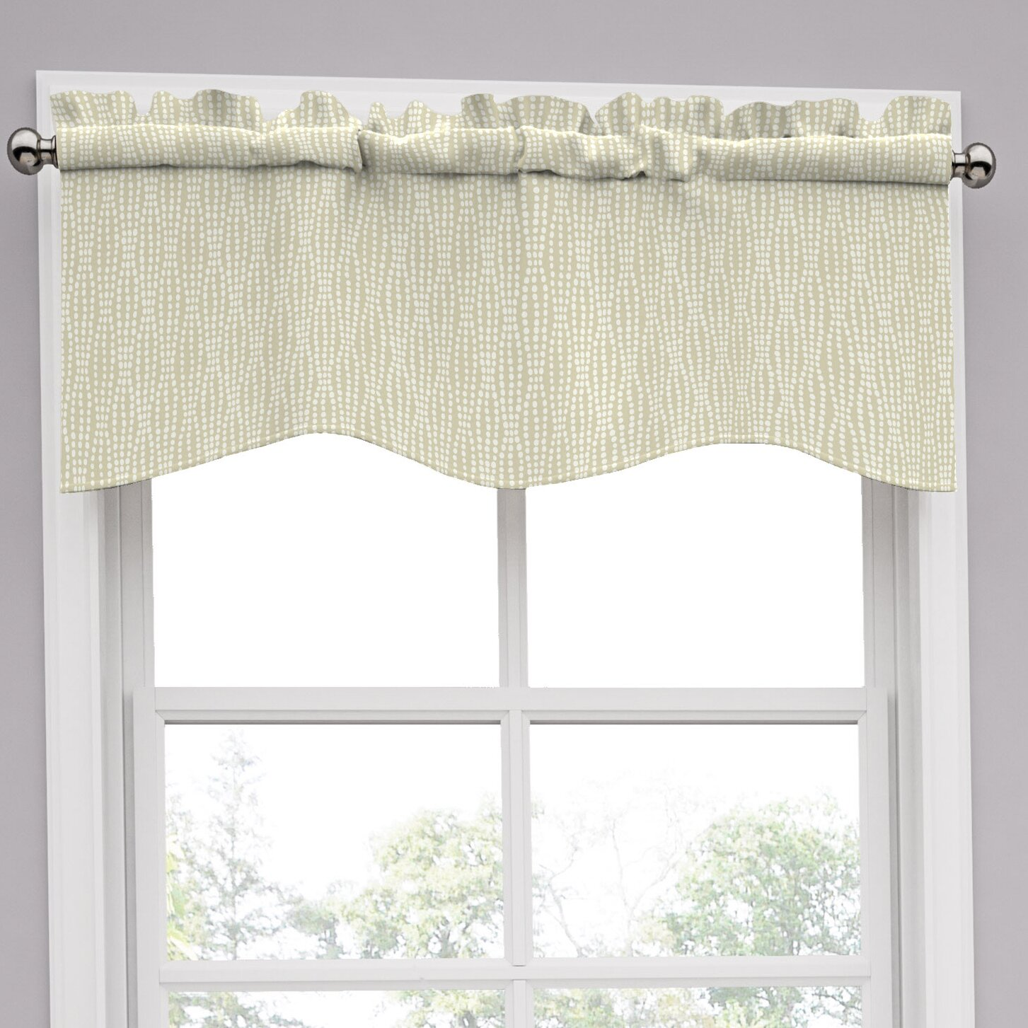 "Traditions By Waverly Strands 52"" Curtain Valance"