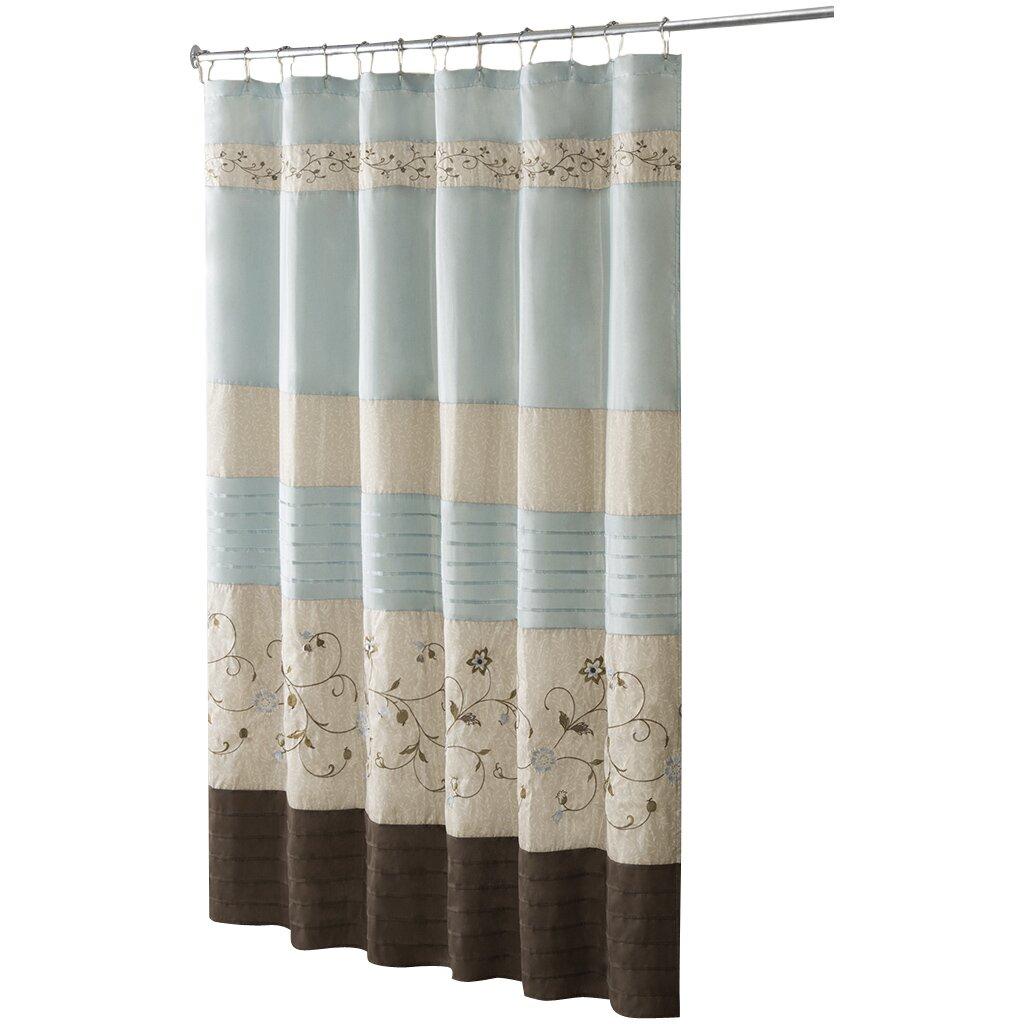 madison park serene shower curtain reviews wayfair