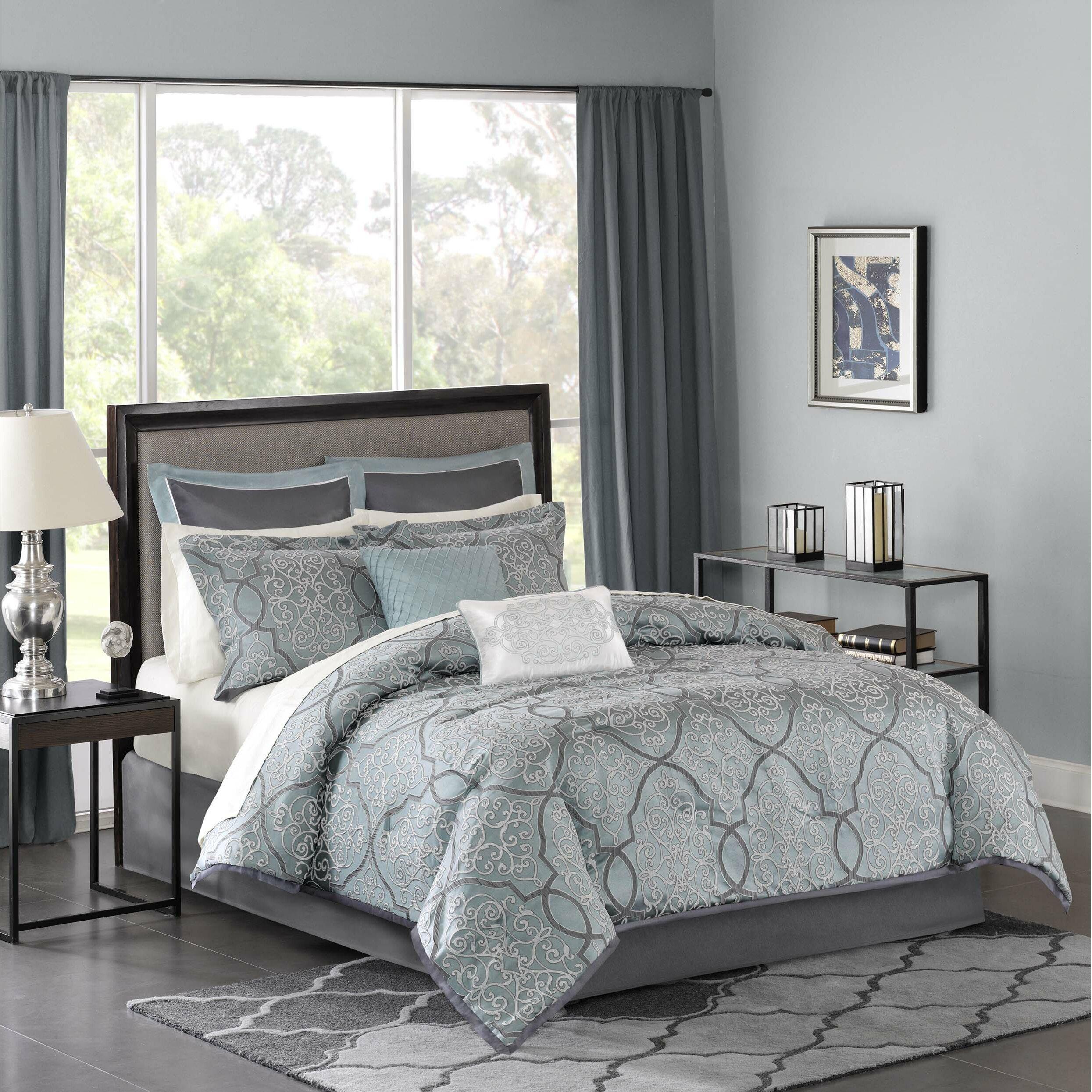 Madison Park Lavine 12 Piece Comforter Set Amp Reviews Wayfair