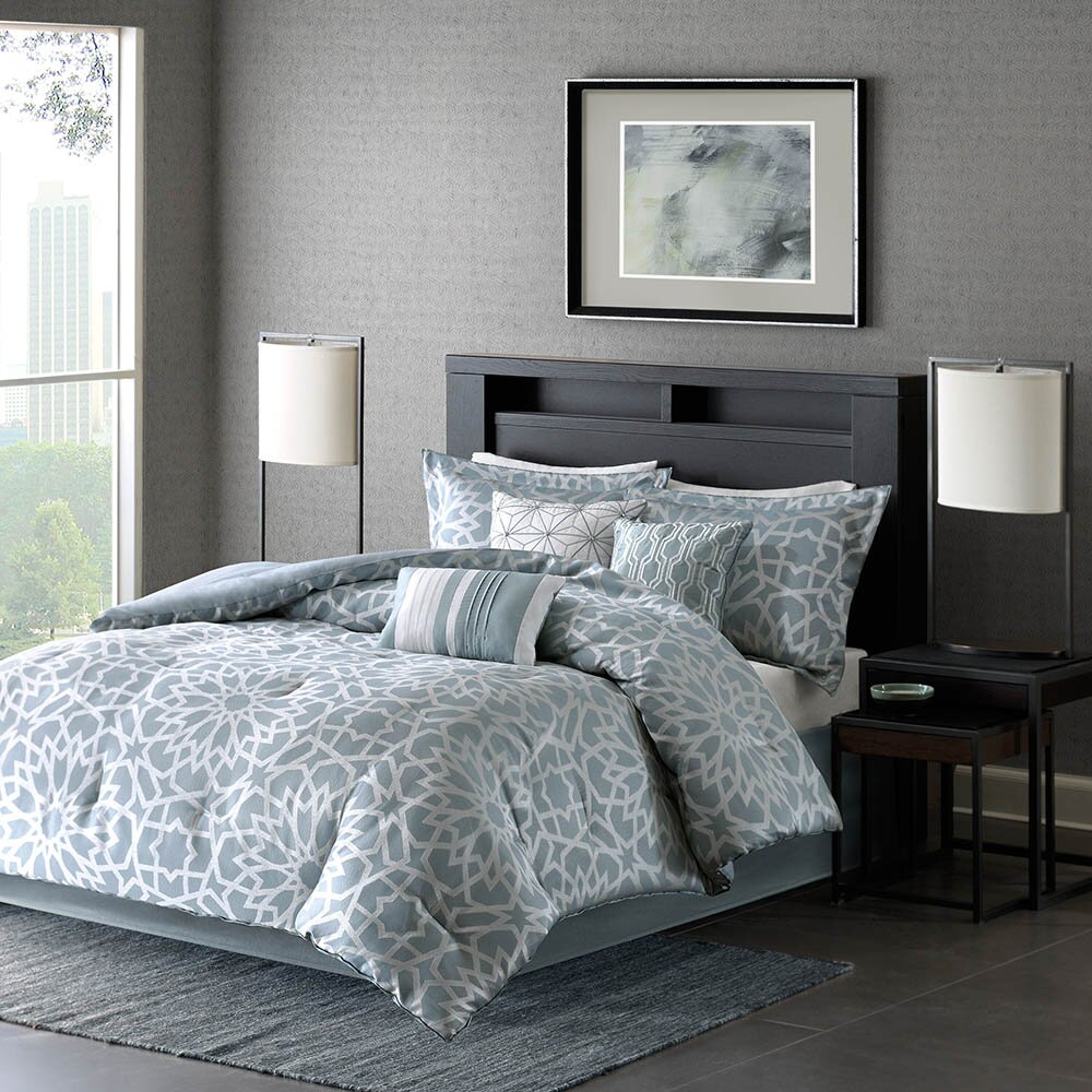 Madison Park Carlow 7 Piece Comforter Set Amp Reviews Wayfair