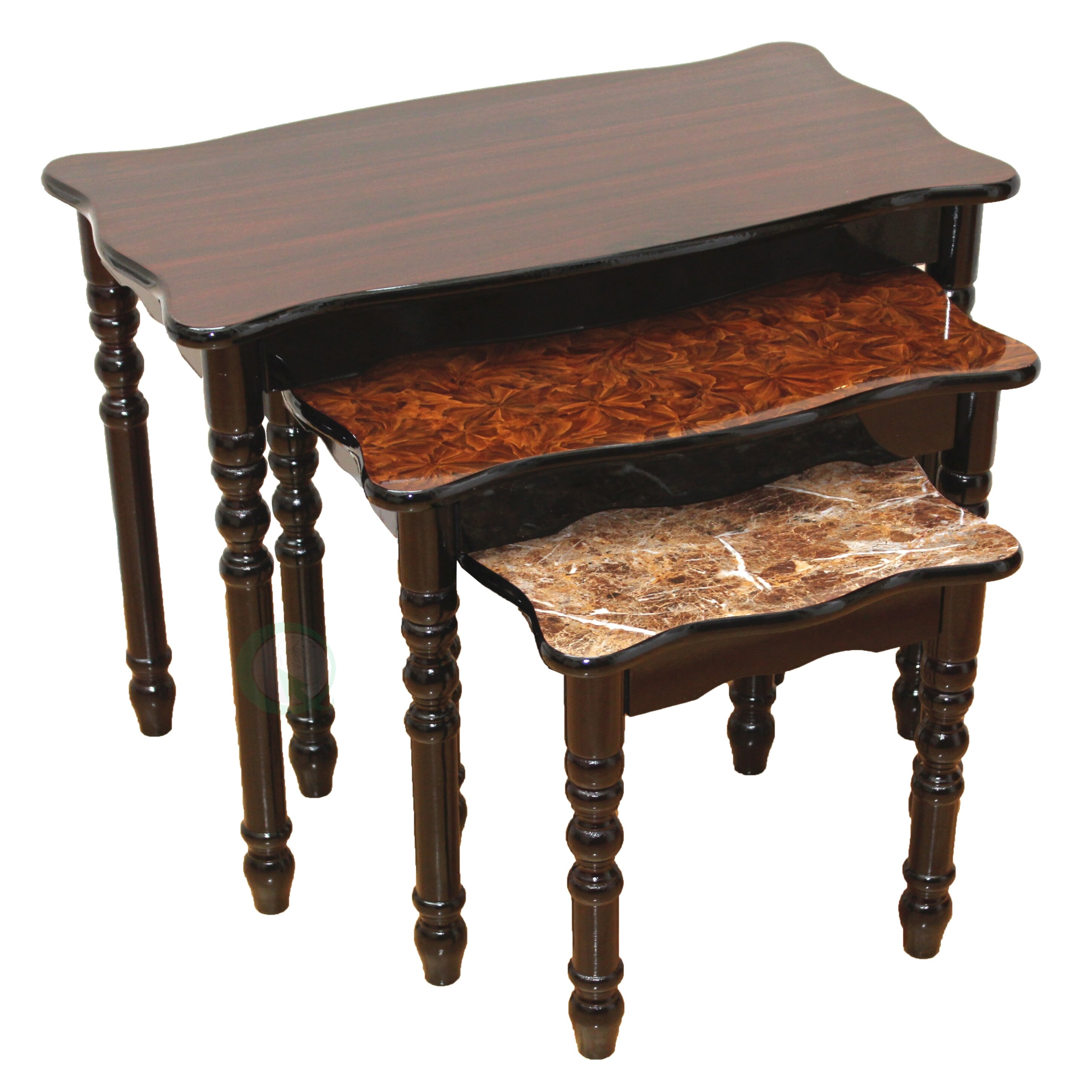uniquewise small coffee table reviews wayfair. Black Bedroom Furniture Sets. Home Design Ideas