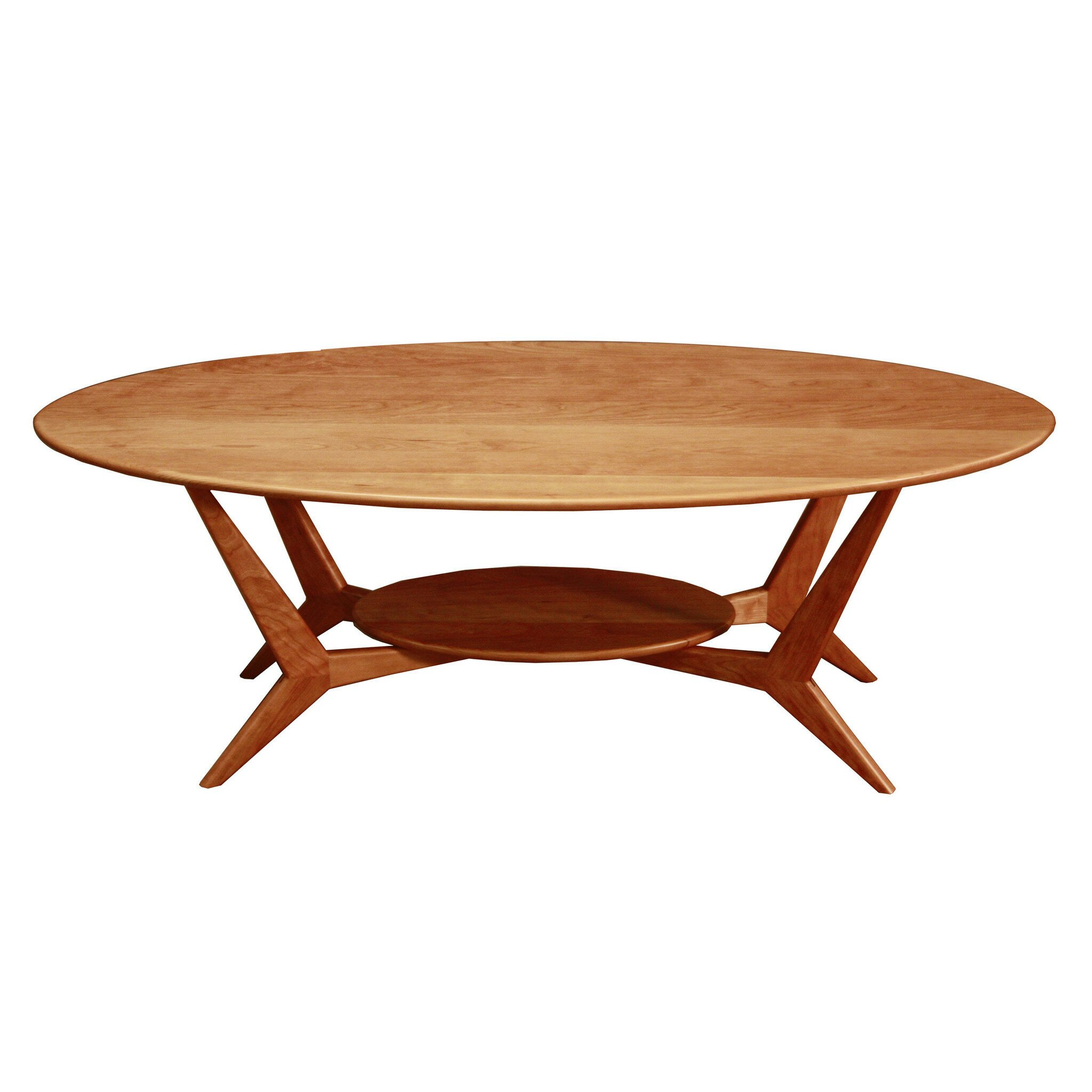 Woodrevival midcentury coffee table reviews wayfairca for Wayfair mid century coffee table