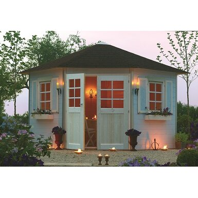 Superia 10 x 10 summerhouse wayfair uk for Abri jardin belgique