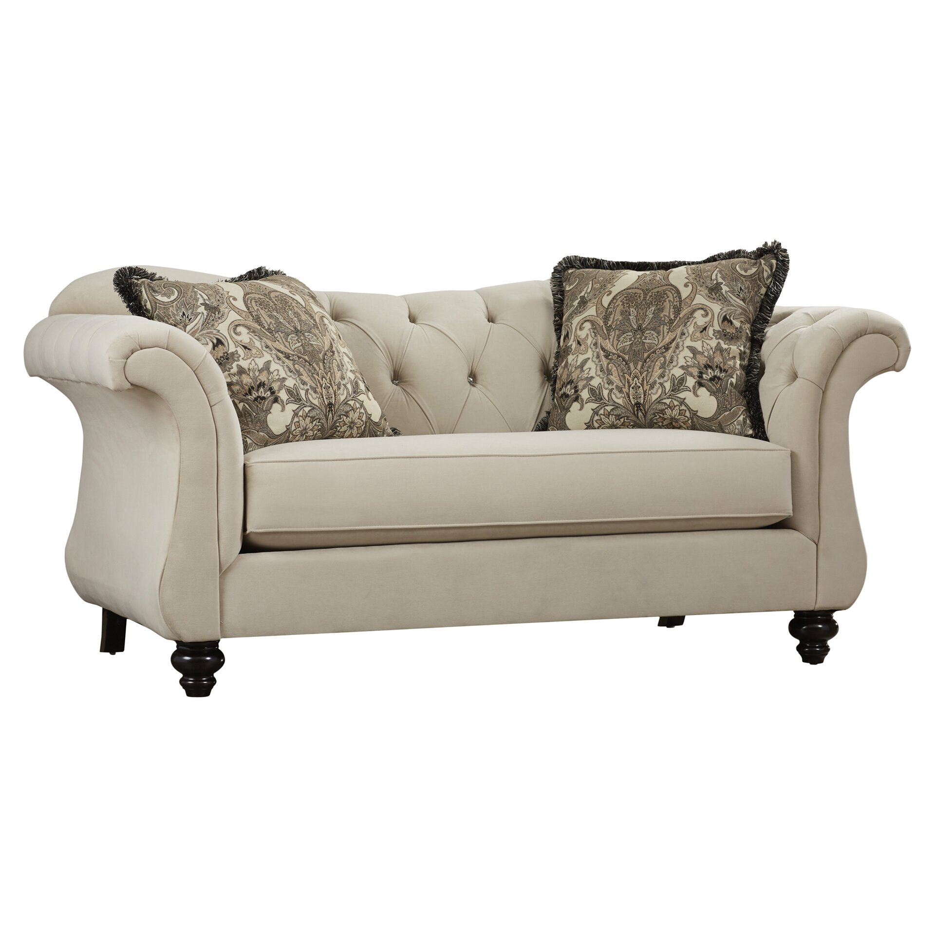 Balster Premium Tufted Upholstered Loveseat Wayfair