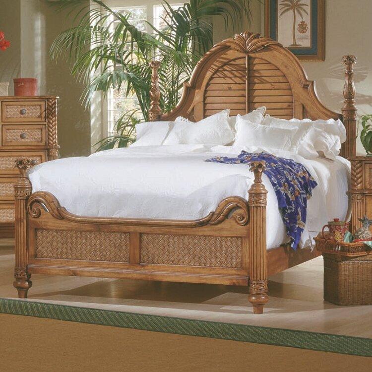 Bay Isle Home Paradiso Panel Customizable Bedroom Set