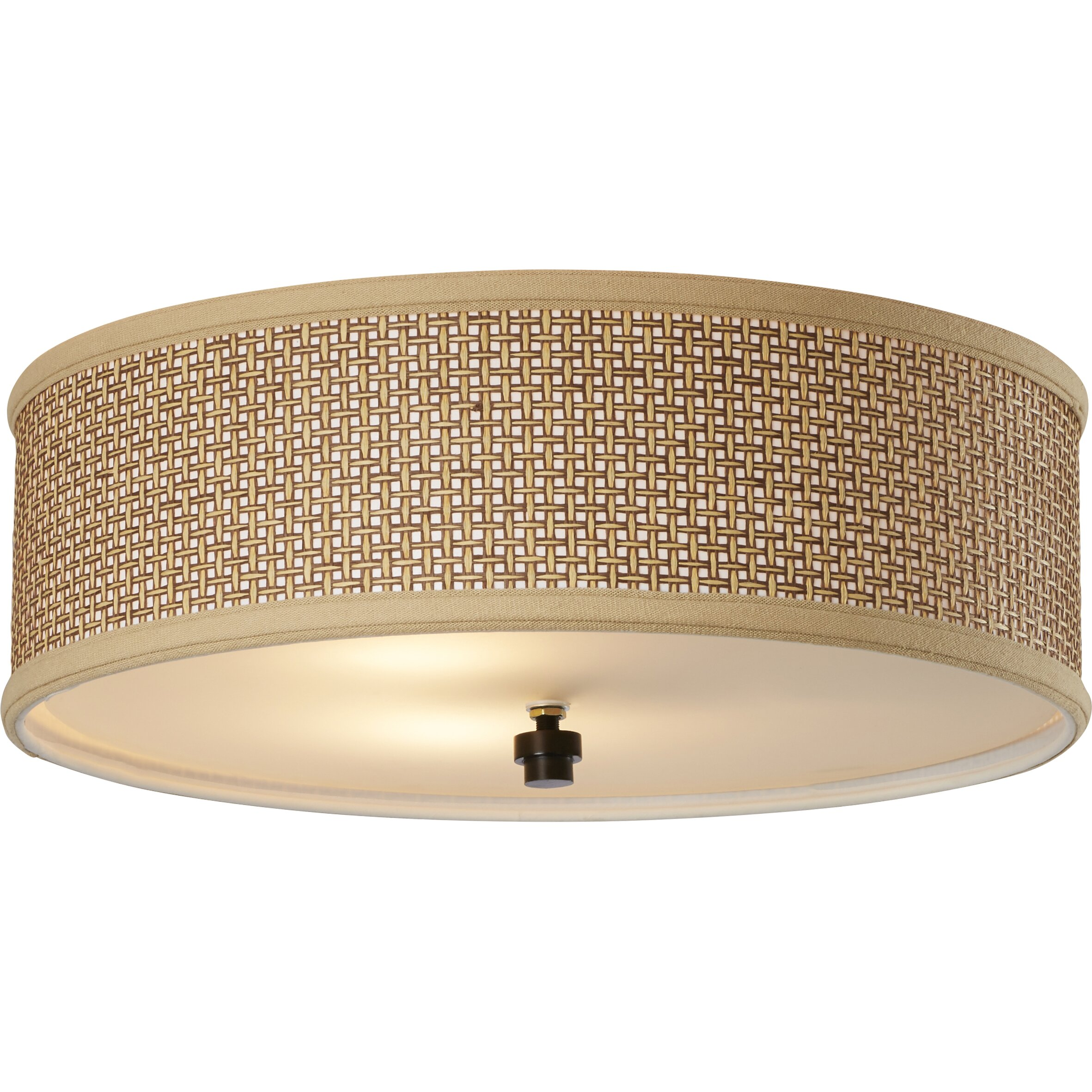 Bay Isle Home Greene 3 Light Outdoor Flush Mount & Reviews