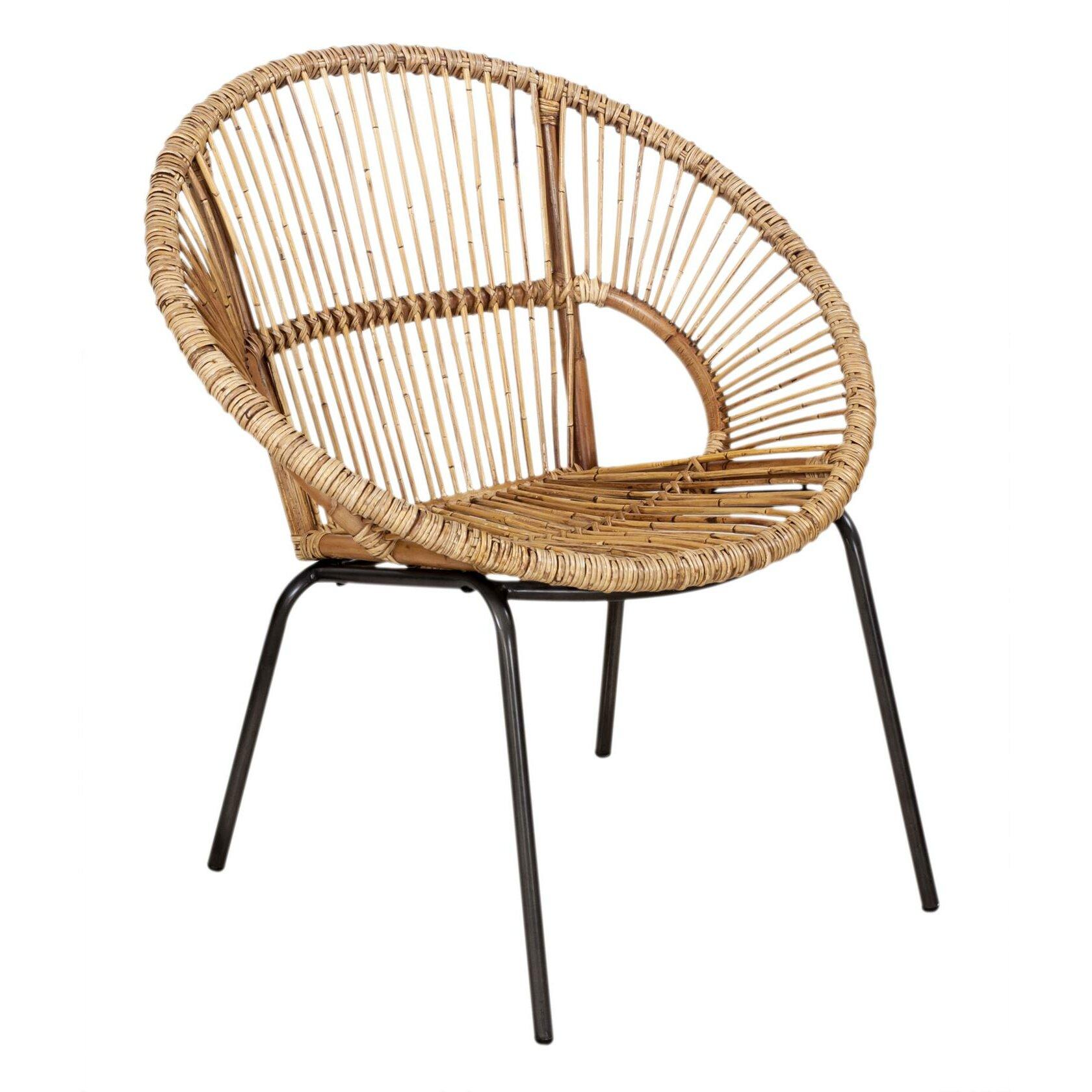 28 [ Circular Bamboo Chair ]