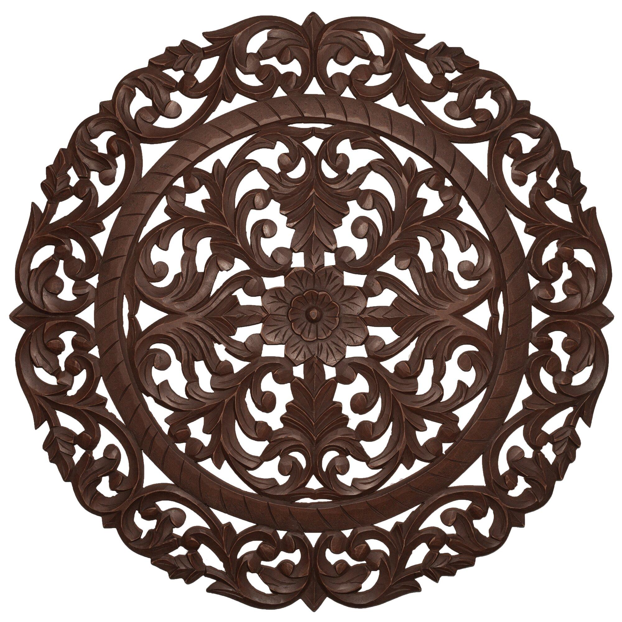 Astoria Grand Handcrafted Medallion Wall Décor & Reviews ...