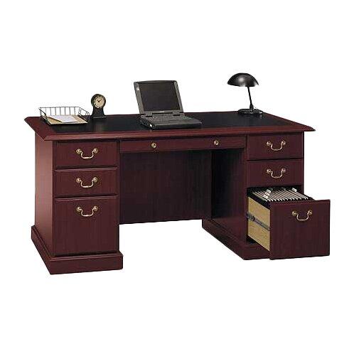 Astoria Grand Cowdray Executive Desk Amp Reviews Wayfair