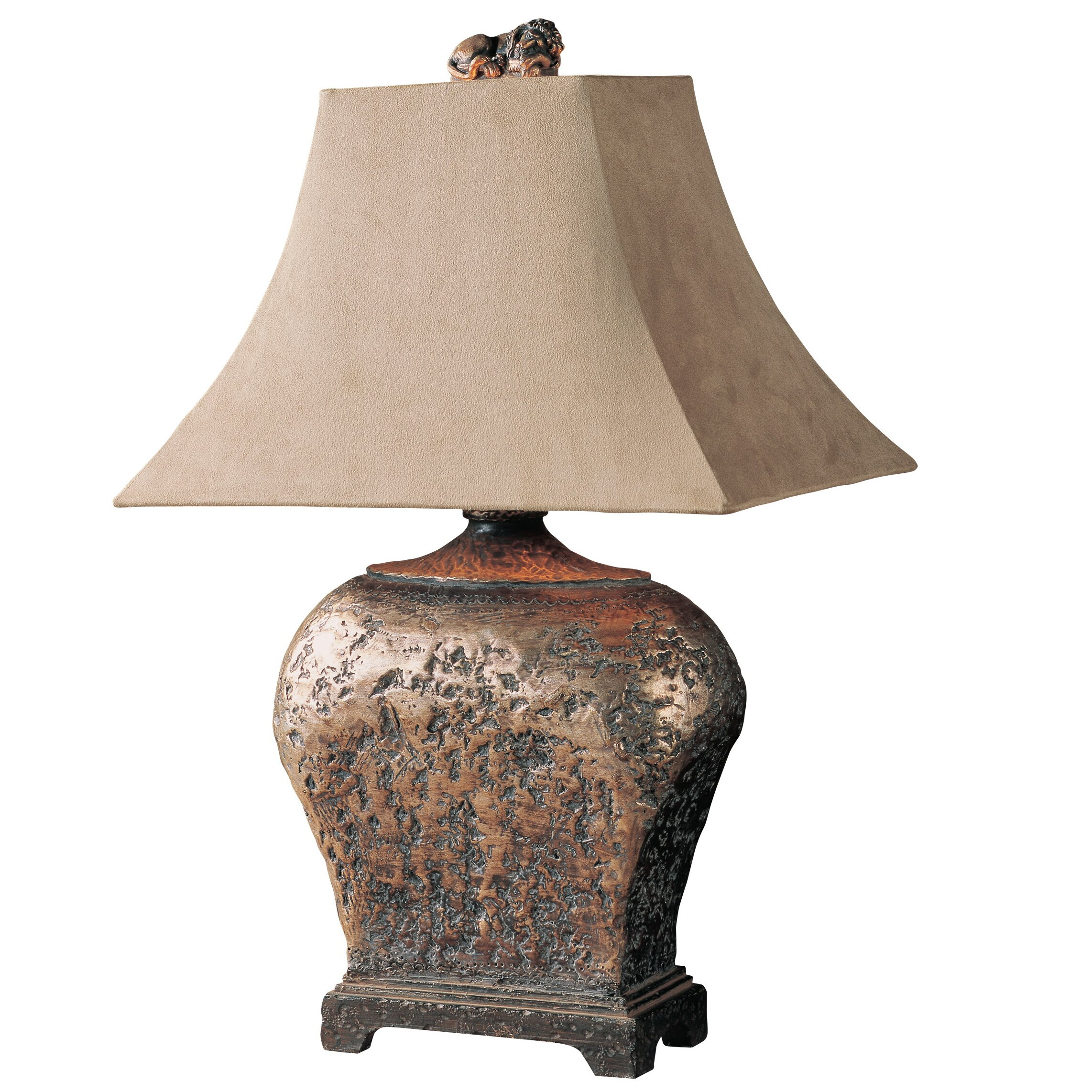 severndroog 27 h table lamp with bell shade wayfair. Black Bedroom Furniture Sets. Home Design Ideas