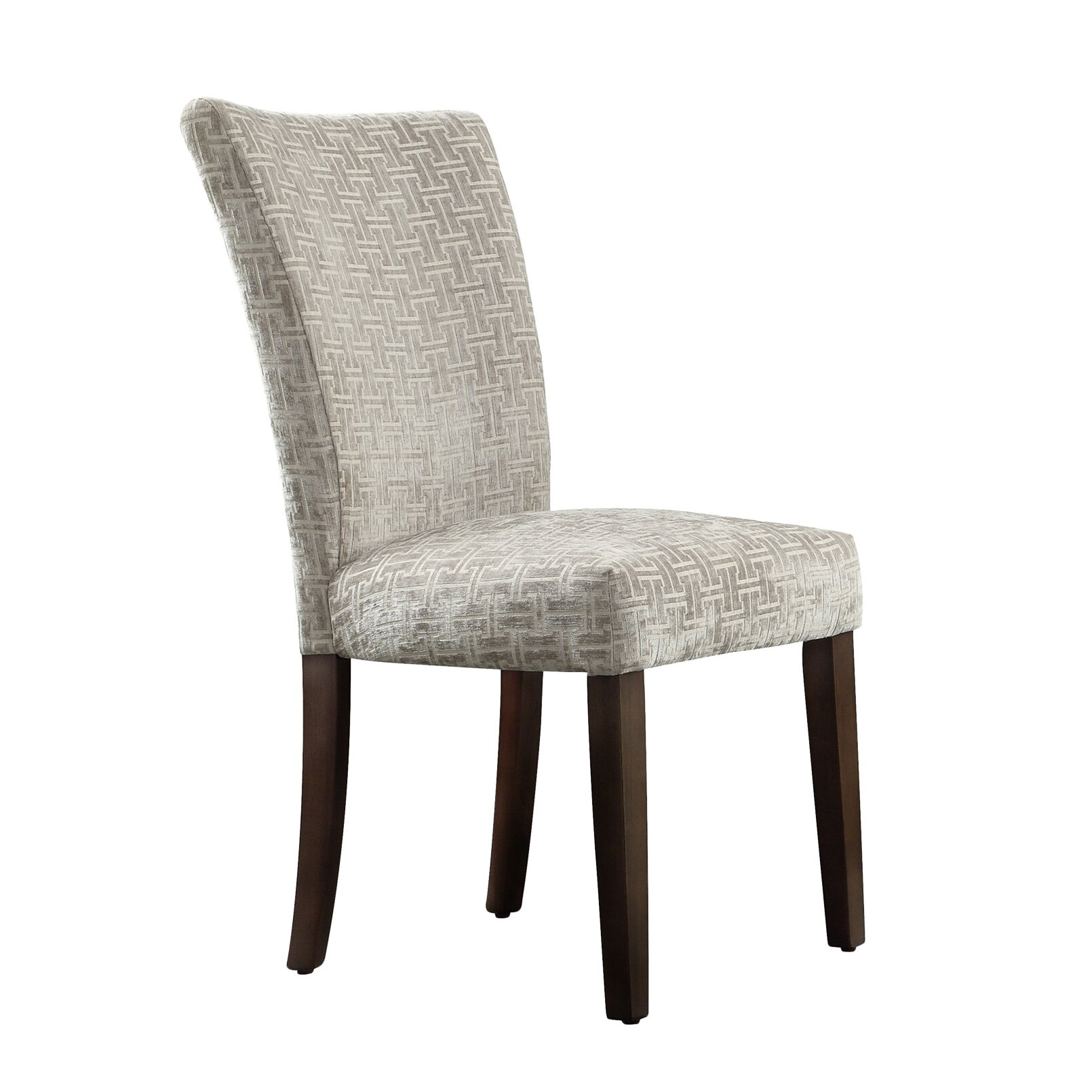 Oliver Link Print Parson Chair
