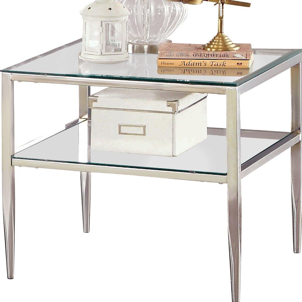 Mercer41 Travolta Open Shelf End Table Amp Reviews Wayfair