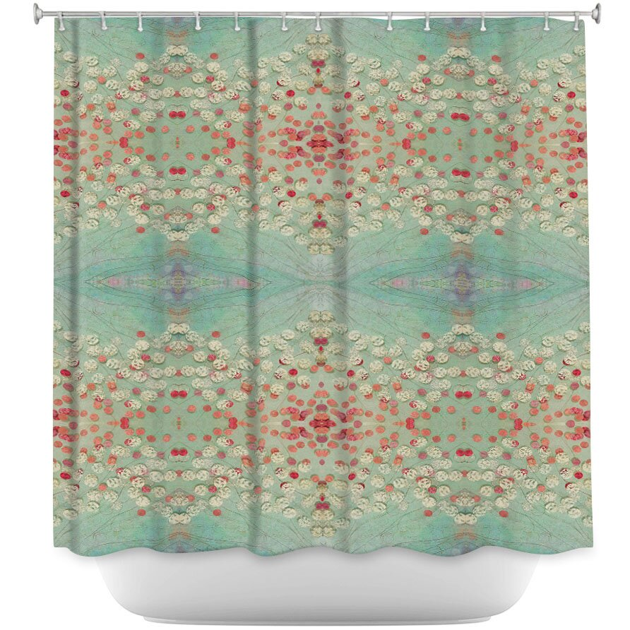 abstract shower curtain wayfair