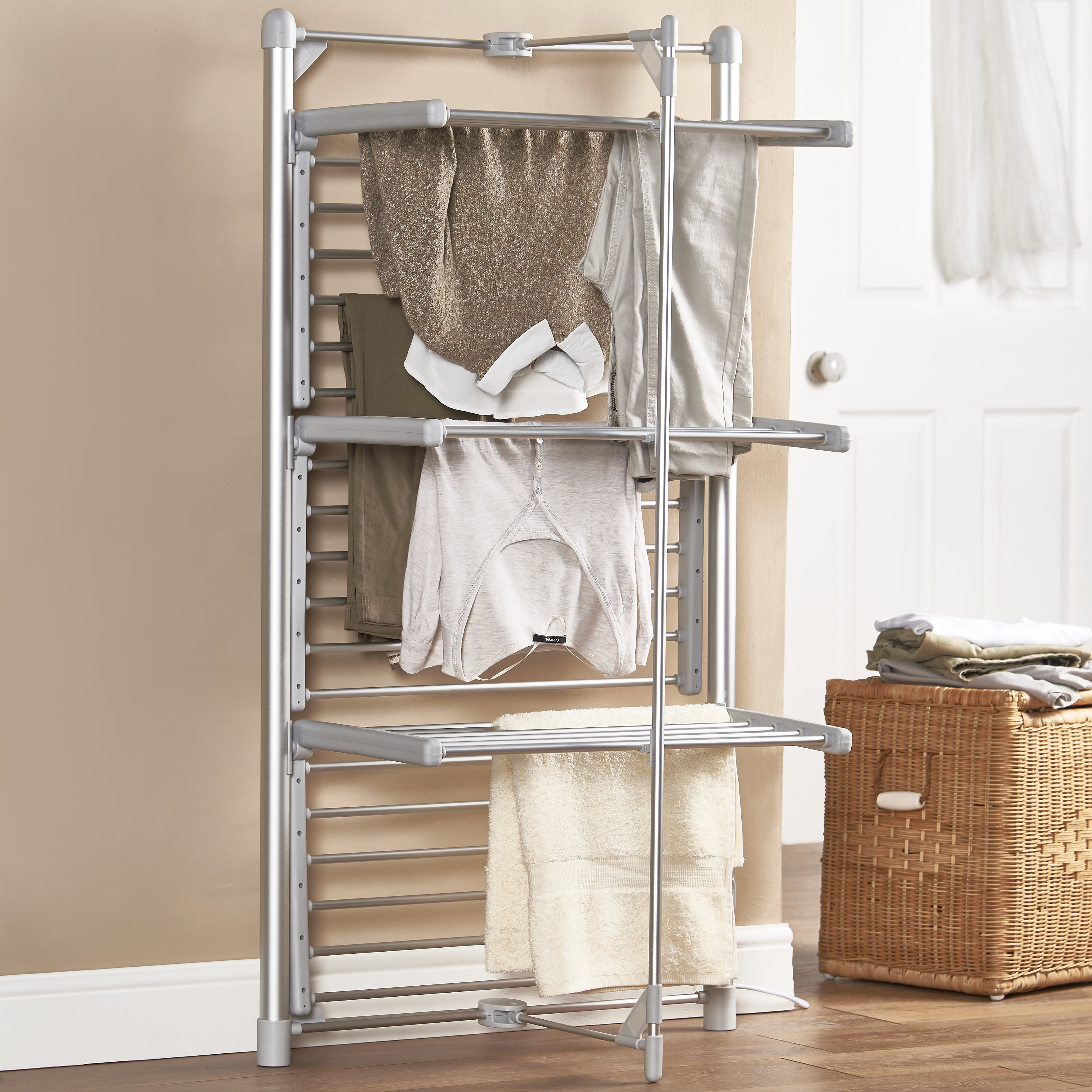 Heated Clothes Drying Rack Wayfair