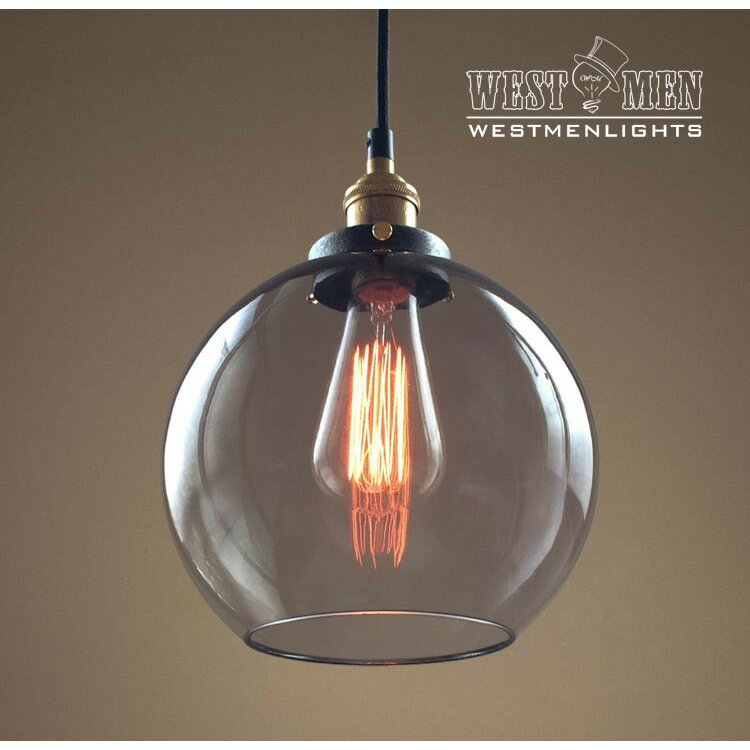 1 light globe pendant wayfair for Tuscan style kitchen lighting