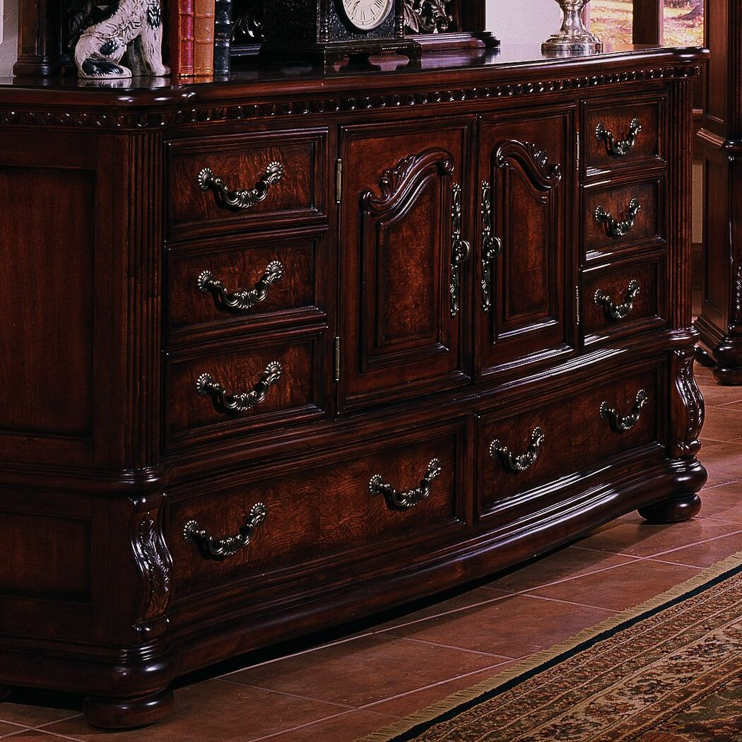 Samuel Lawrence San Marino Sleigh Customizable Bedroom Set