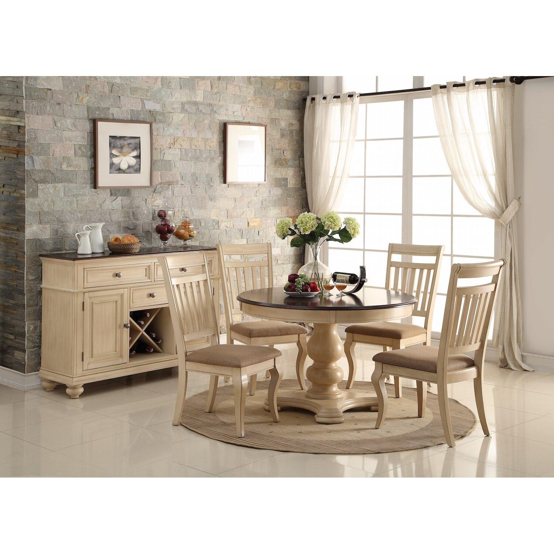 Infini Furnishings Bella 5 Piece Dining Set & Reviews