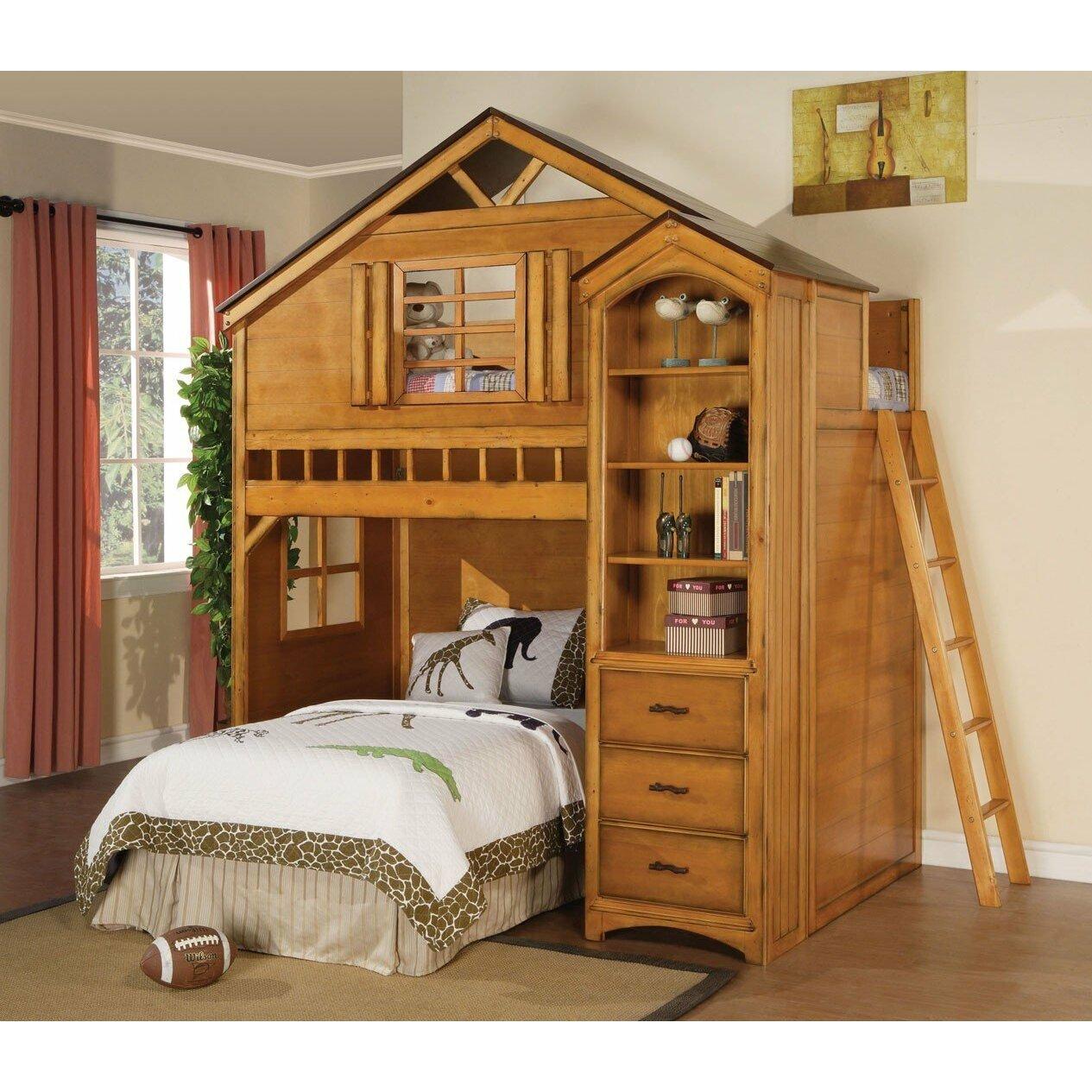 Treehouse Twin Loft Bed Wayfair