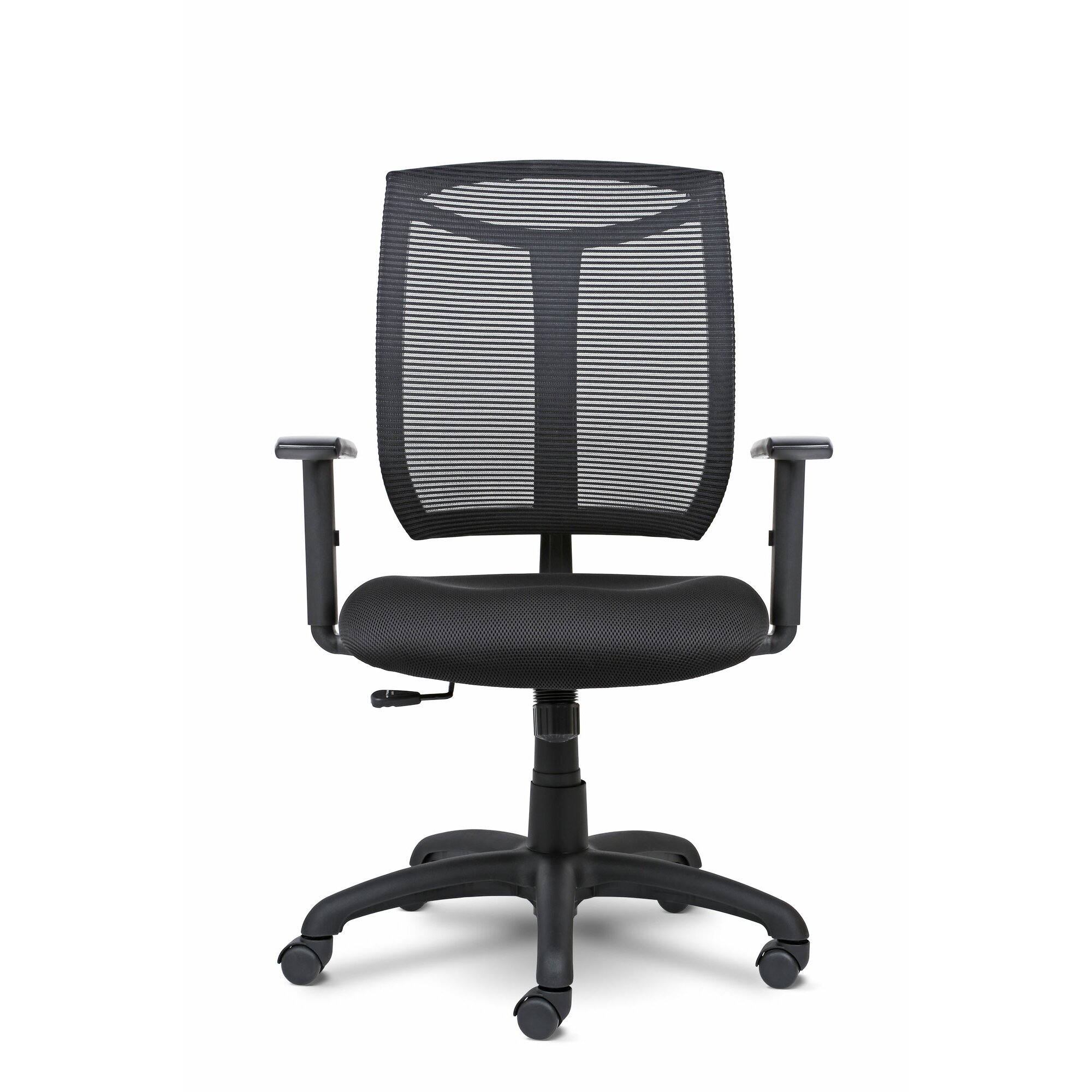 Bria Mid Back Mesh Desk Chair with Arms