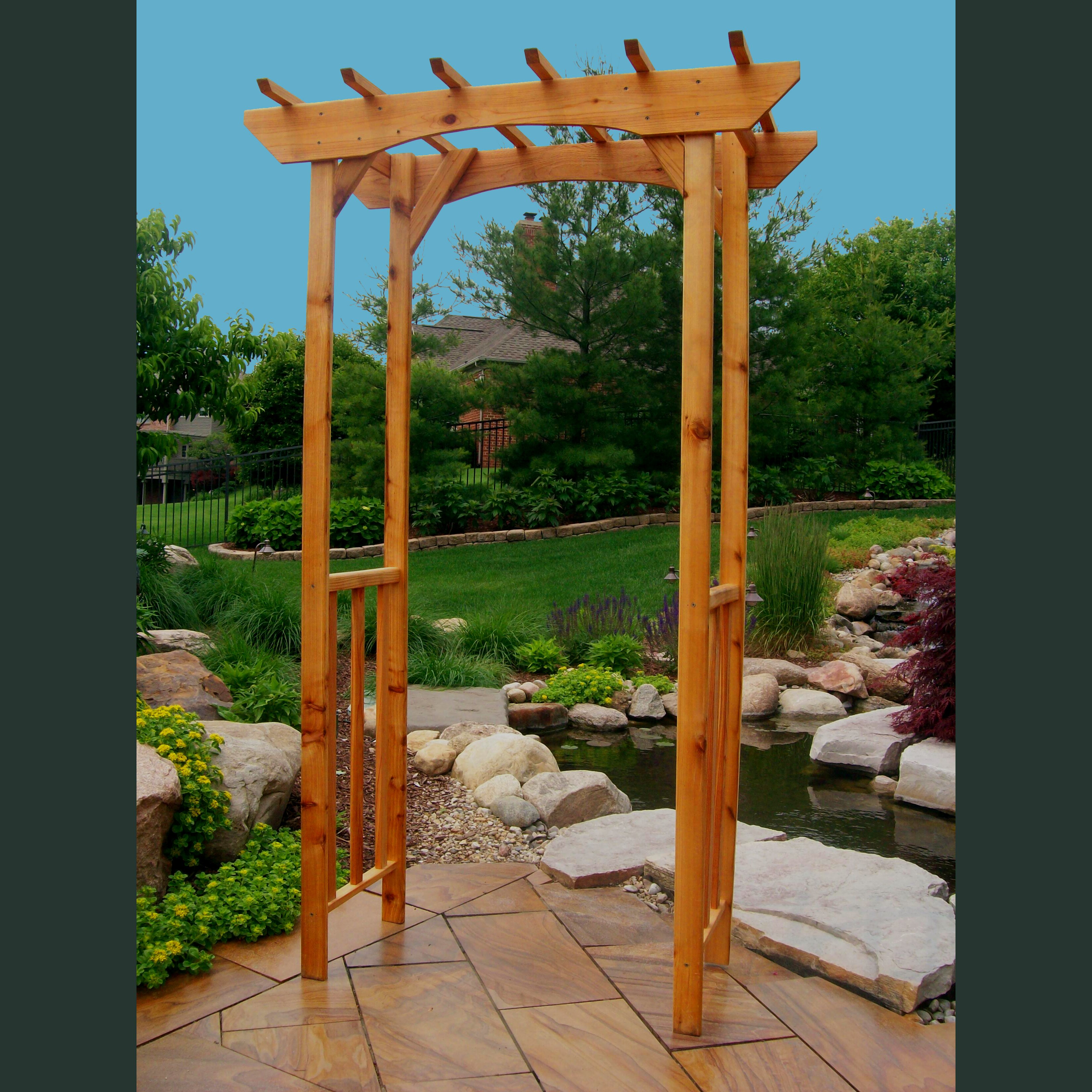 Arbor Living: Great Lakes Outdoor Living Arbor
