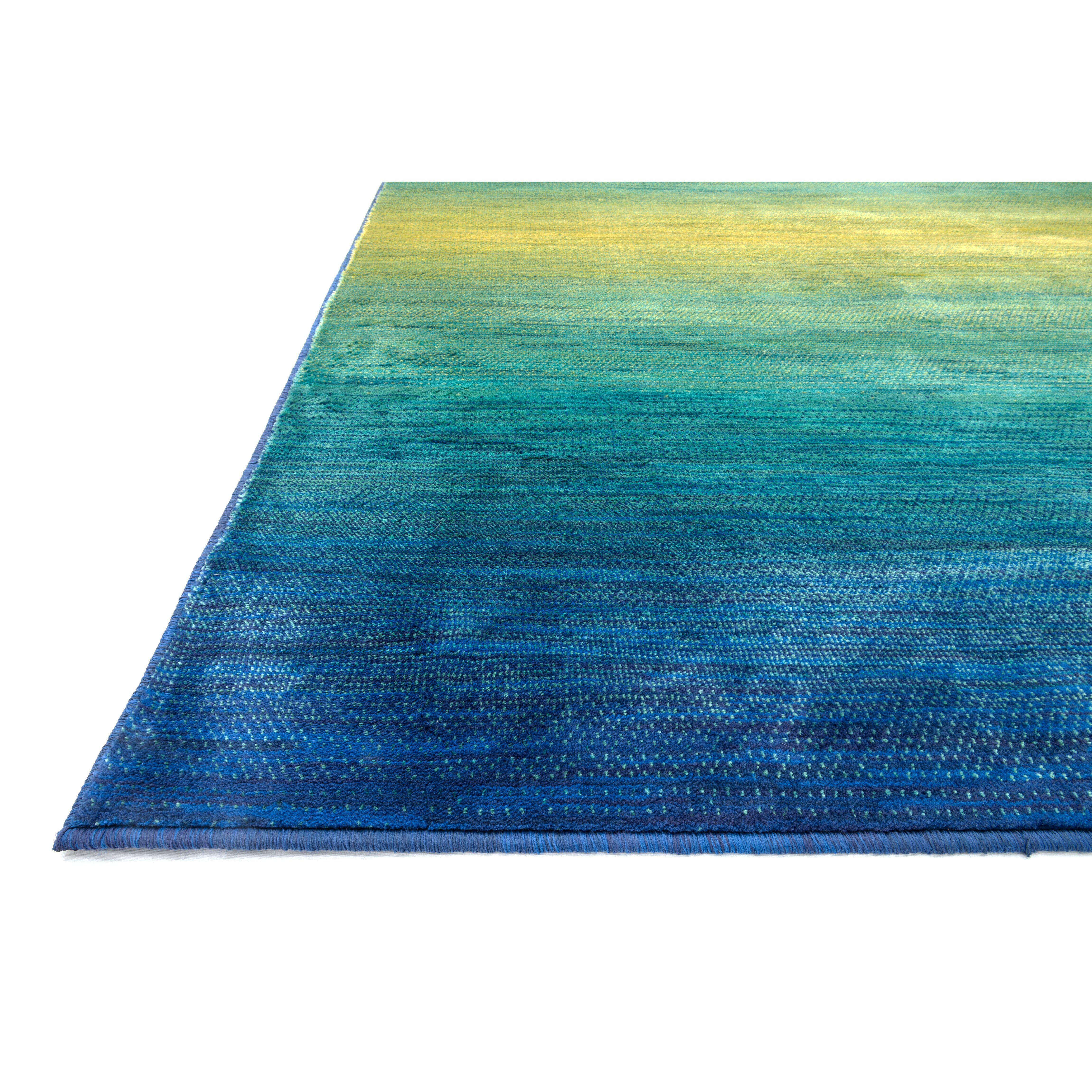 The Conestoga Trading Co. Blue/Teal Area Rug & Reviews