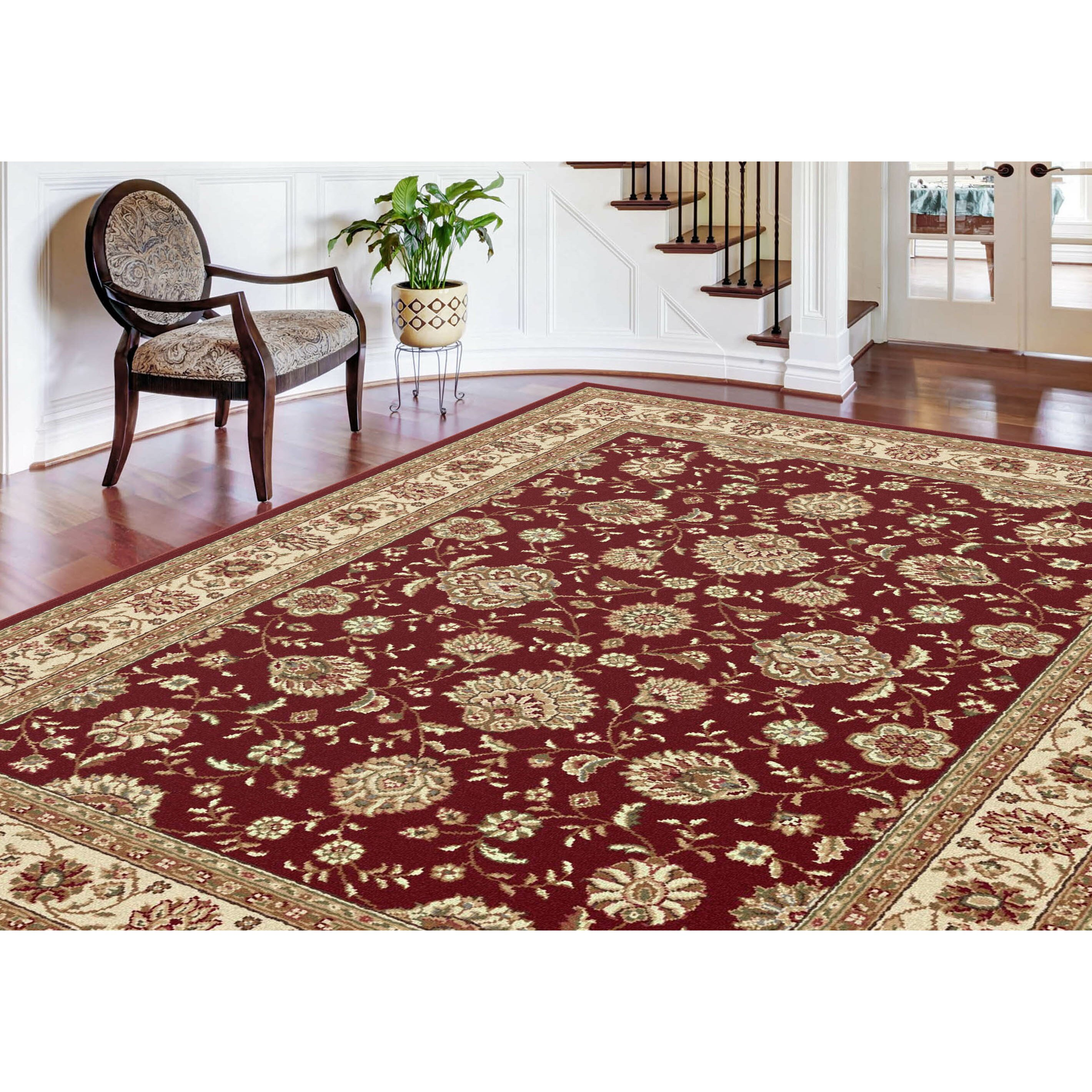Litchford Red Area Rug